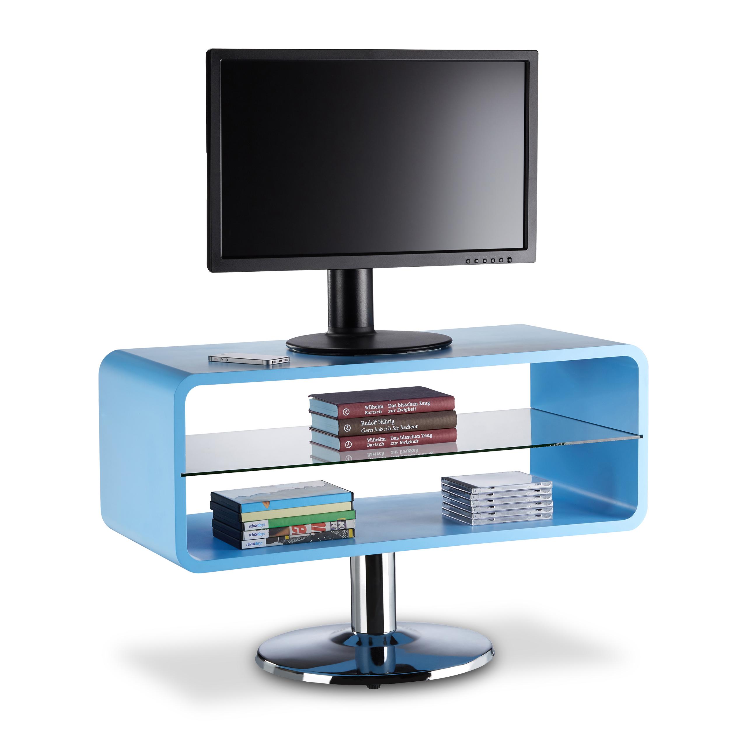 tv tisch retro fernsehtisch freistehend tv board schmal lowboard 60s design ebay. Black Bedroom Furniture Sets. Home Design Ideas