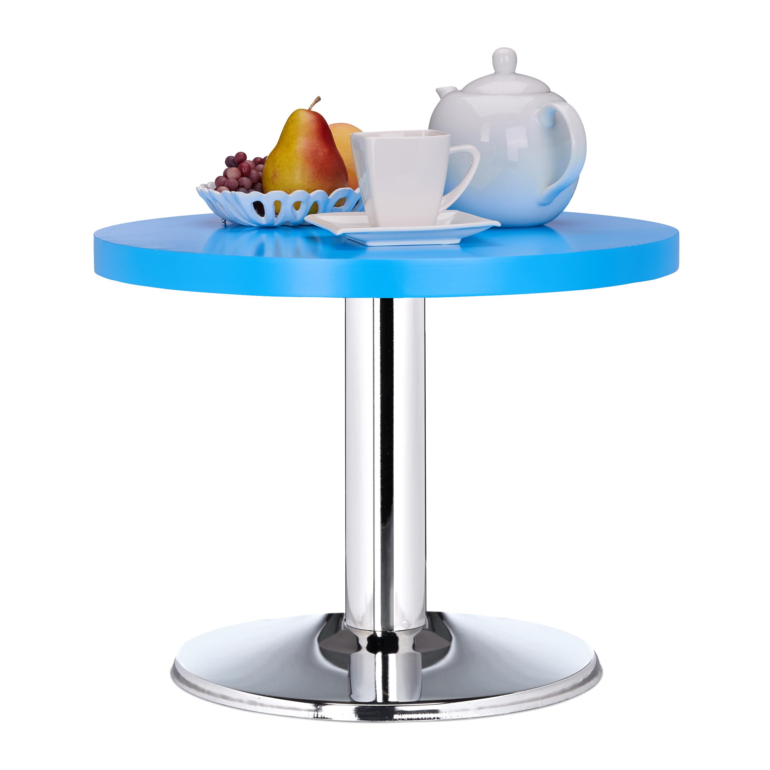 Runder Beistelltisch Kleiner Couchtisch Farbiger Kindertisch Mdf