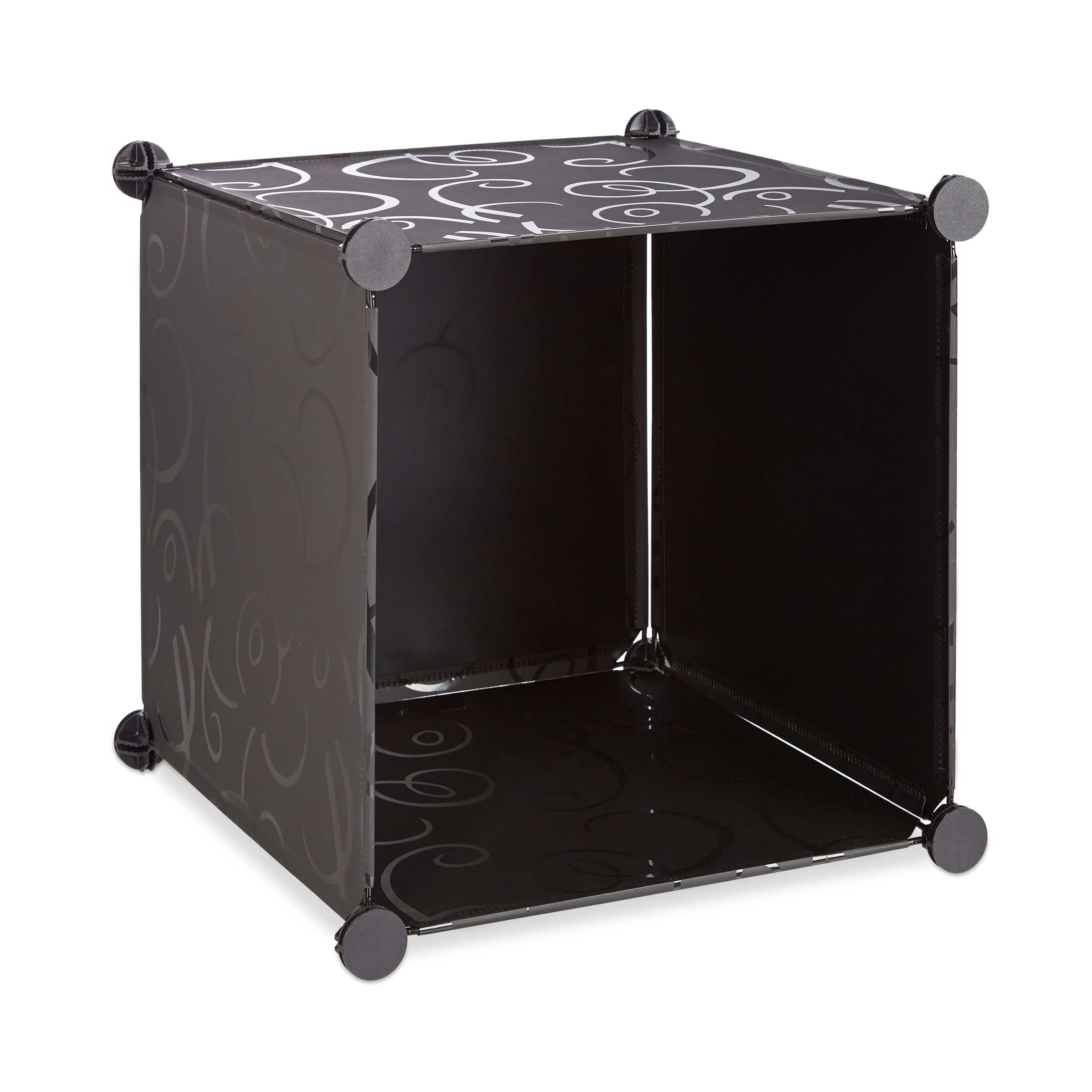 Boltless-Plastic-with-16-Compartments-Shelving-System-DIY-with-doors-Plastic-Cabinet thumbnail 6