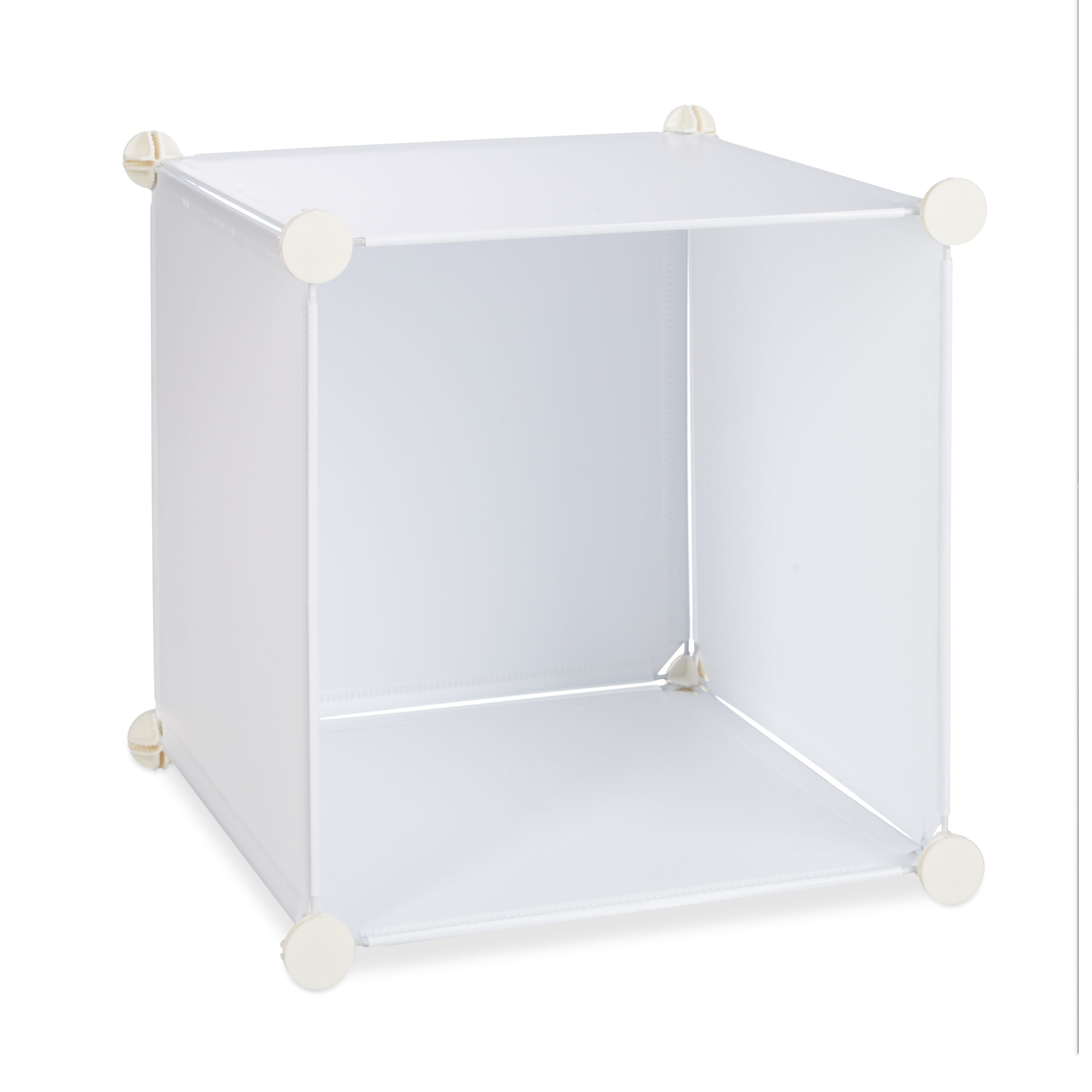 Boltless-Plastic-with-16-Compartments-Shelving-System-DIY-with-doors-Plastic-Cabinet thumbnail 19