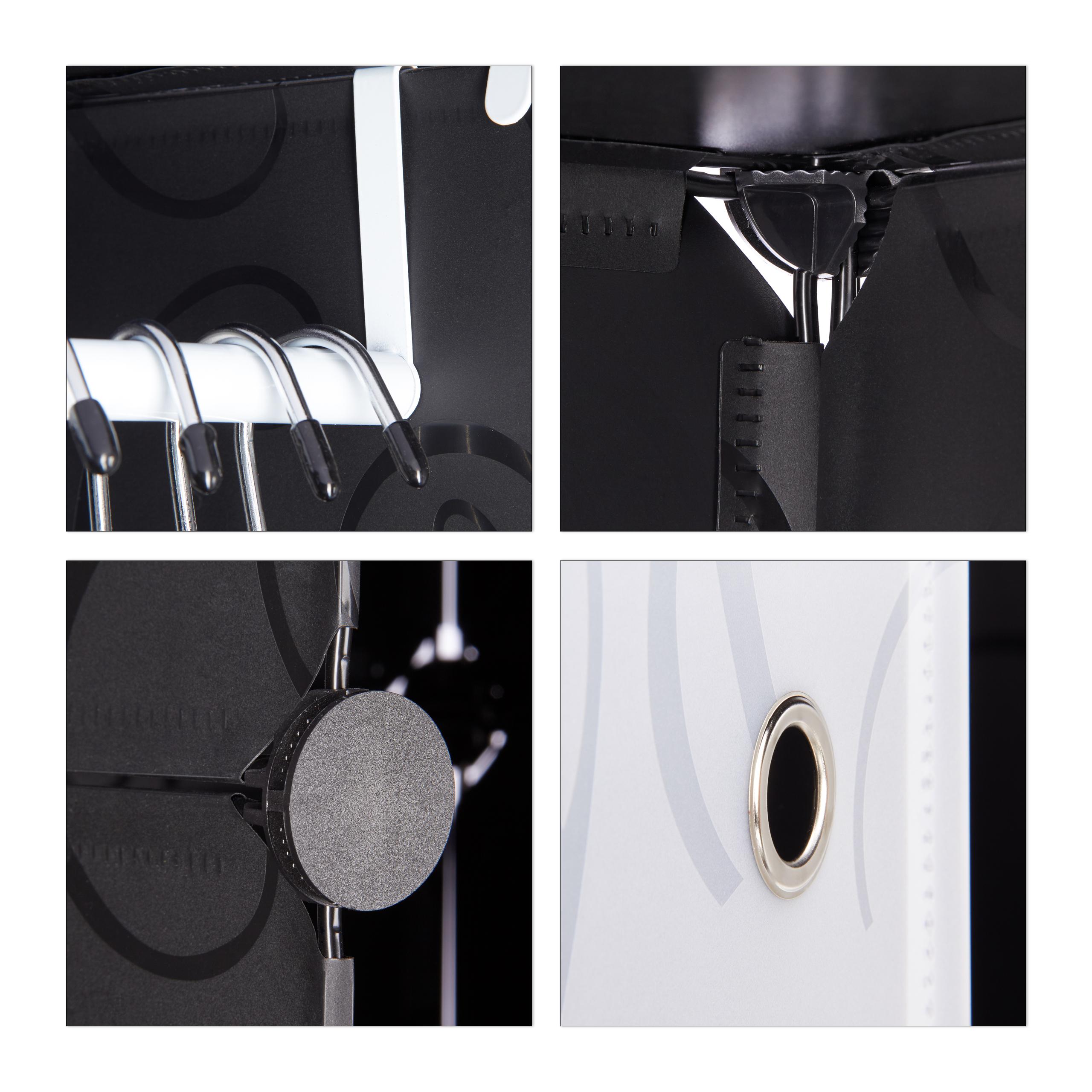 Kleiderschrank-Stecksystem-variabel-Steckregal-erweitbar-Kunststoff-Organizer