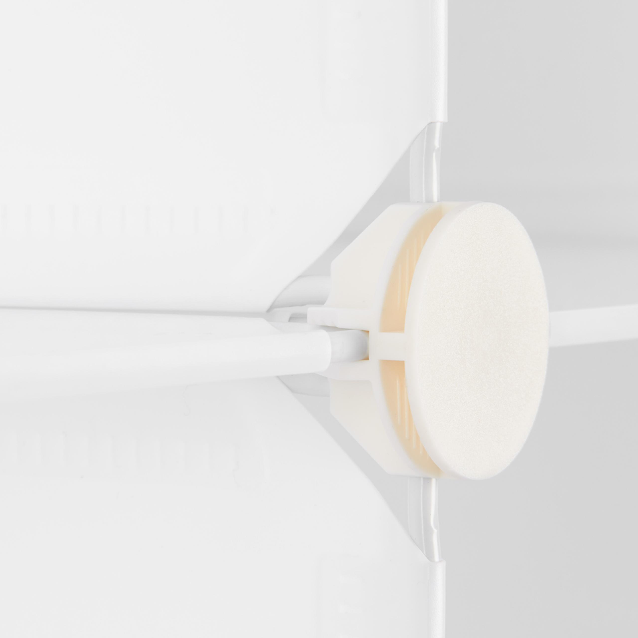 Regalsystem-4-Faecher-Standregal-mit-Tueren-Steckregal-DIY-Schuhschrank-klein