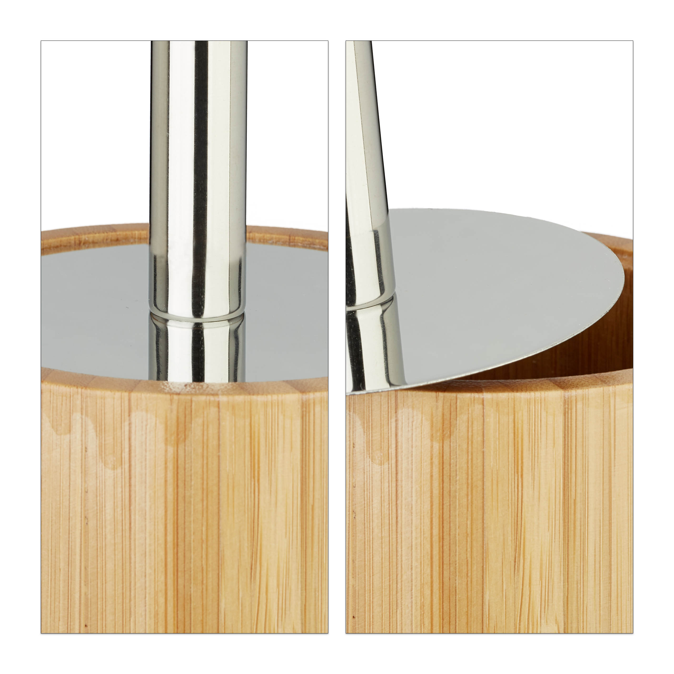 wc b rstenhalter bambus klob rstenhalter holz. Black Bedroom Furniture Sets. Home Design Ideas
