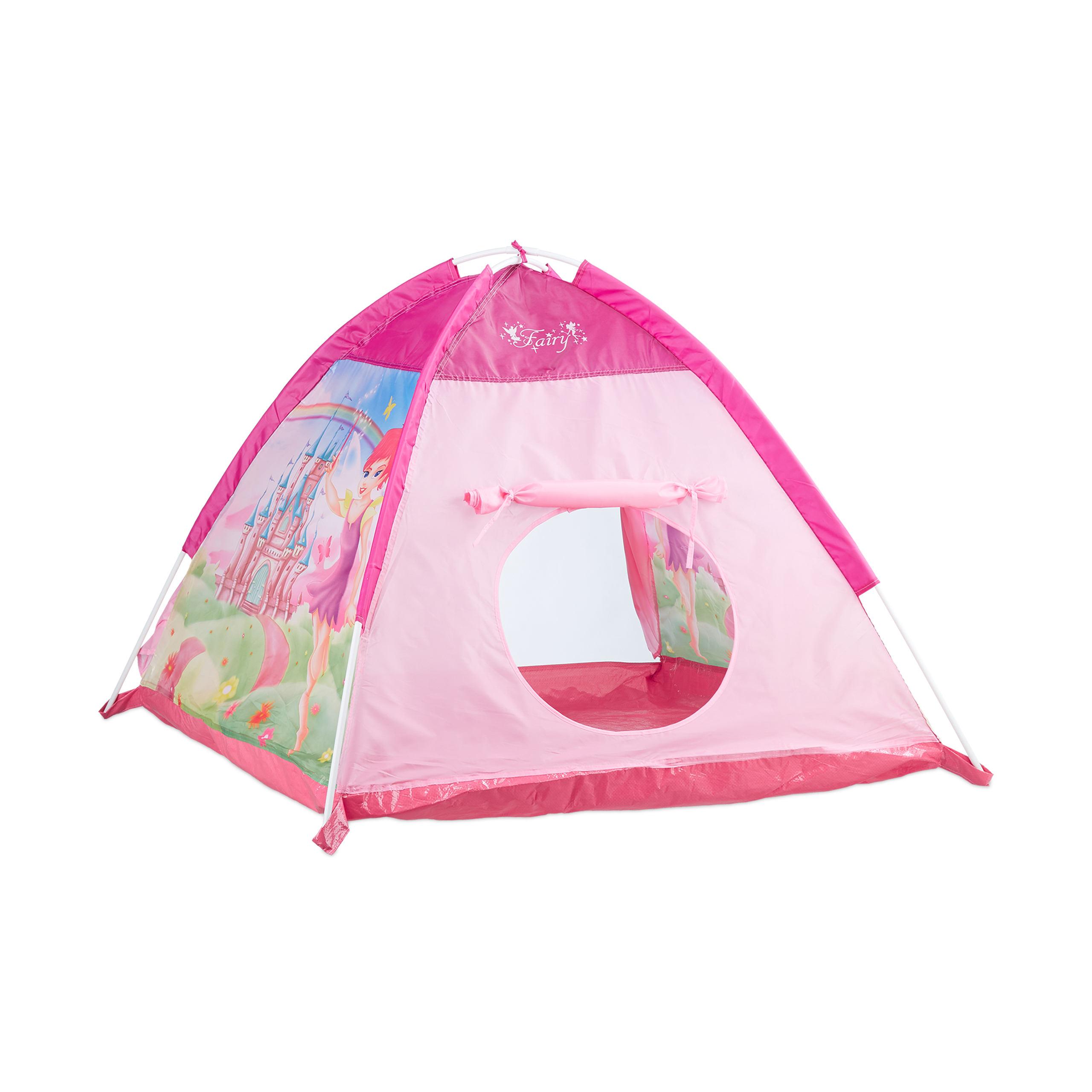spielzelt m dchen pink spielzeit kinder spielhaus drinnen drau en feen schloss ebay. Black Bedroom Furniture Sets. Home Design Ideas