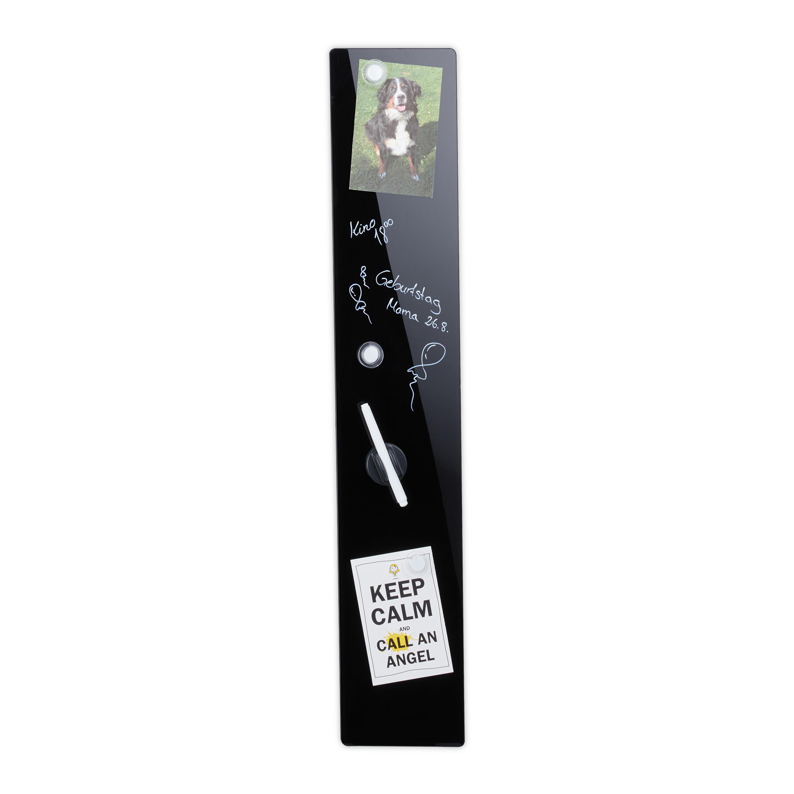 Tableau D Affichage Vitré détails sur tableau magnétique, pense-bête, noir, stylo-feutre, panneau  d'affichage, verre
