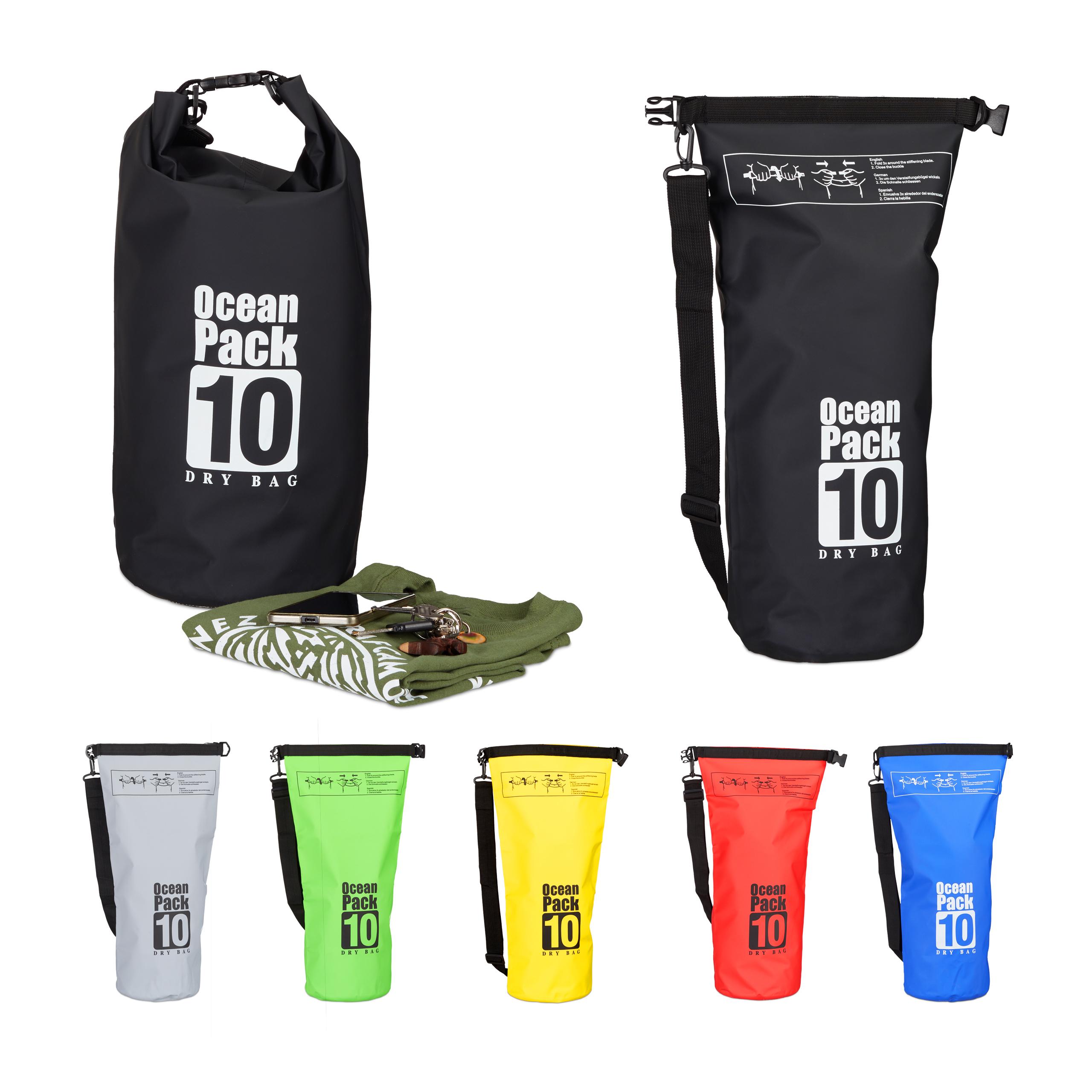 Ocean-Pack-10-Liter-Dry-Bag-wasserdicht-Outdoor-Bag-Trockentasche-gegen-Nasse
