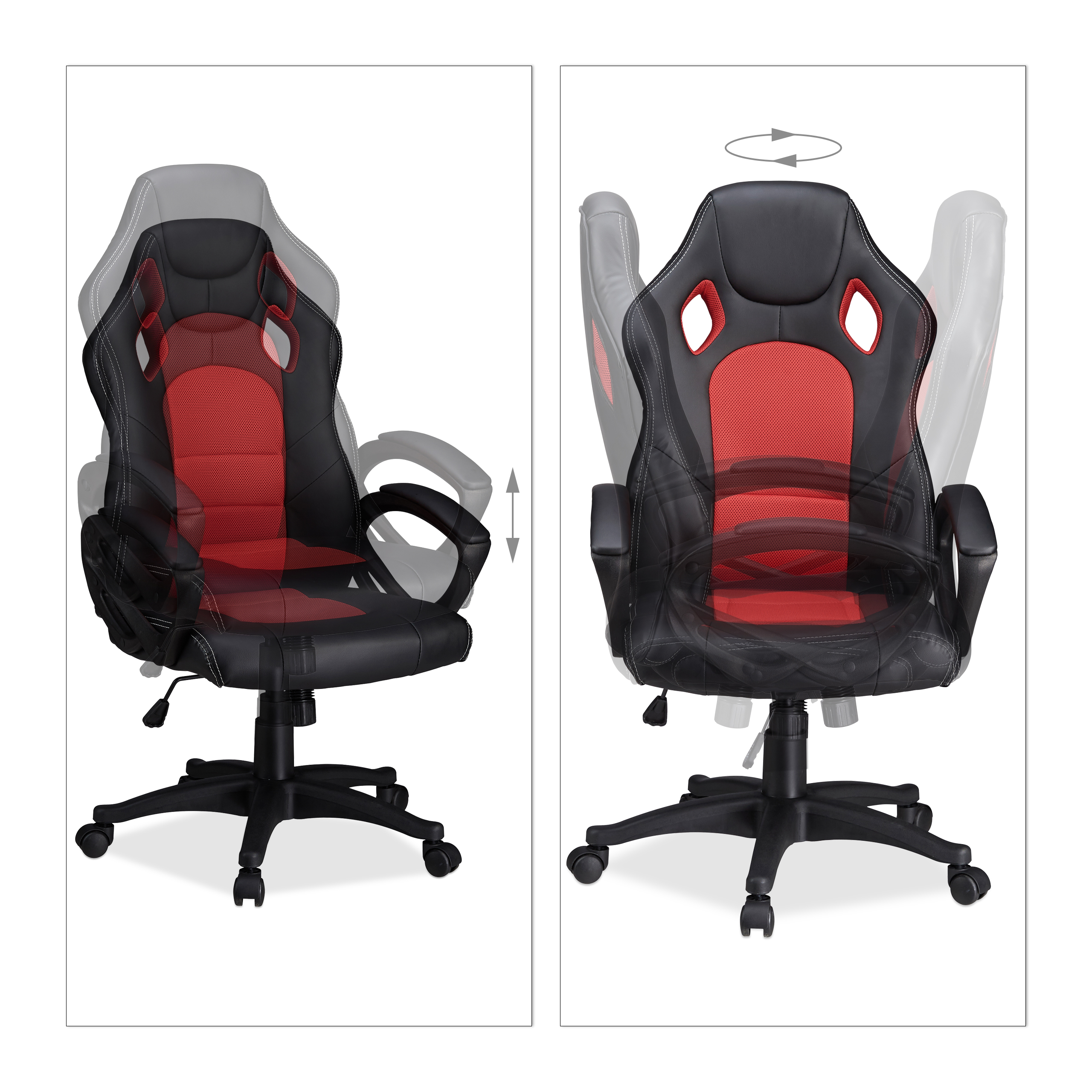 gaming stuhl xr9 pc gaming chair gamer b rostuhl. Black Bedroom Furniture Sets. Home Design Ideas