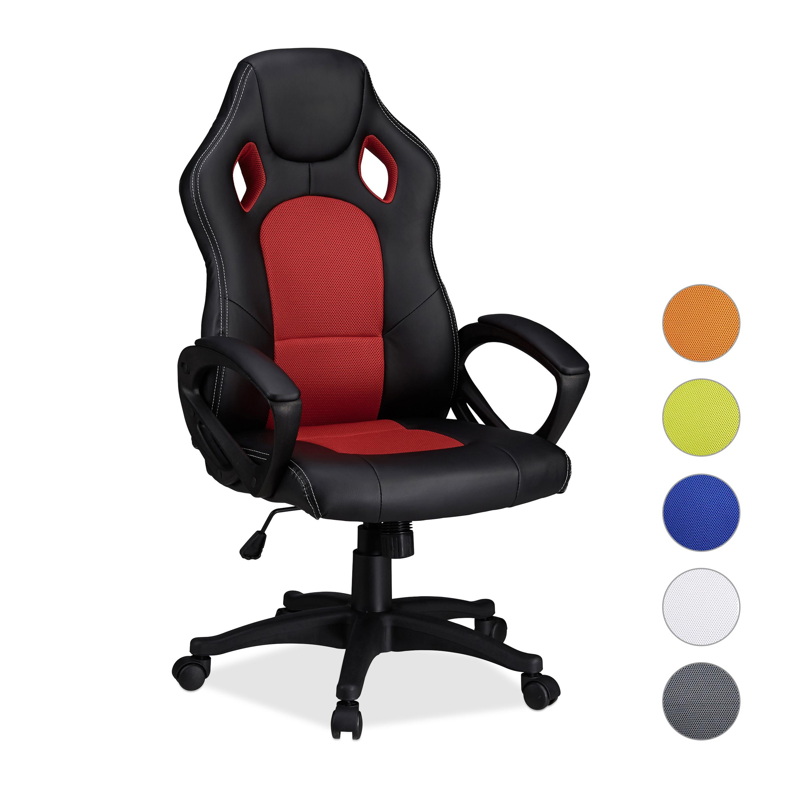 Gaming stoel XR9 PC gamestoel gamer bureaustoel belastbare Racing stoel