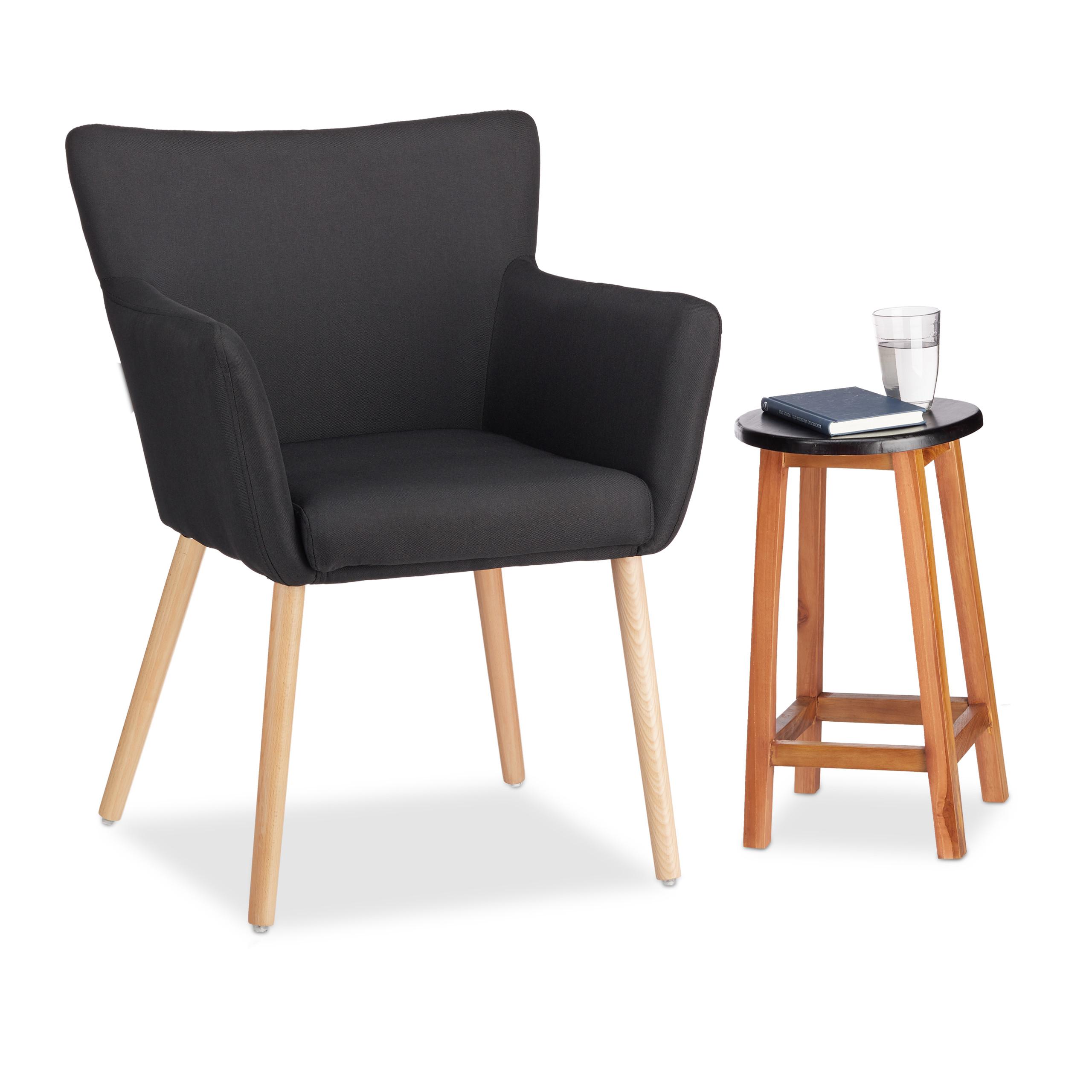 Sedia imbottita design moderno poltrona relax per locale lounge in ...