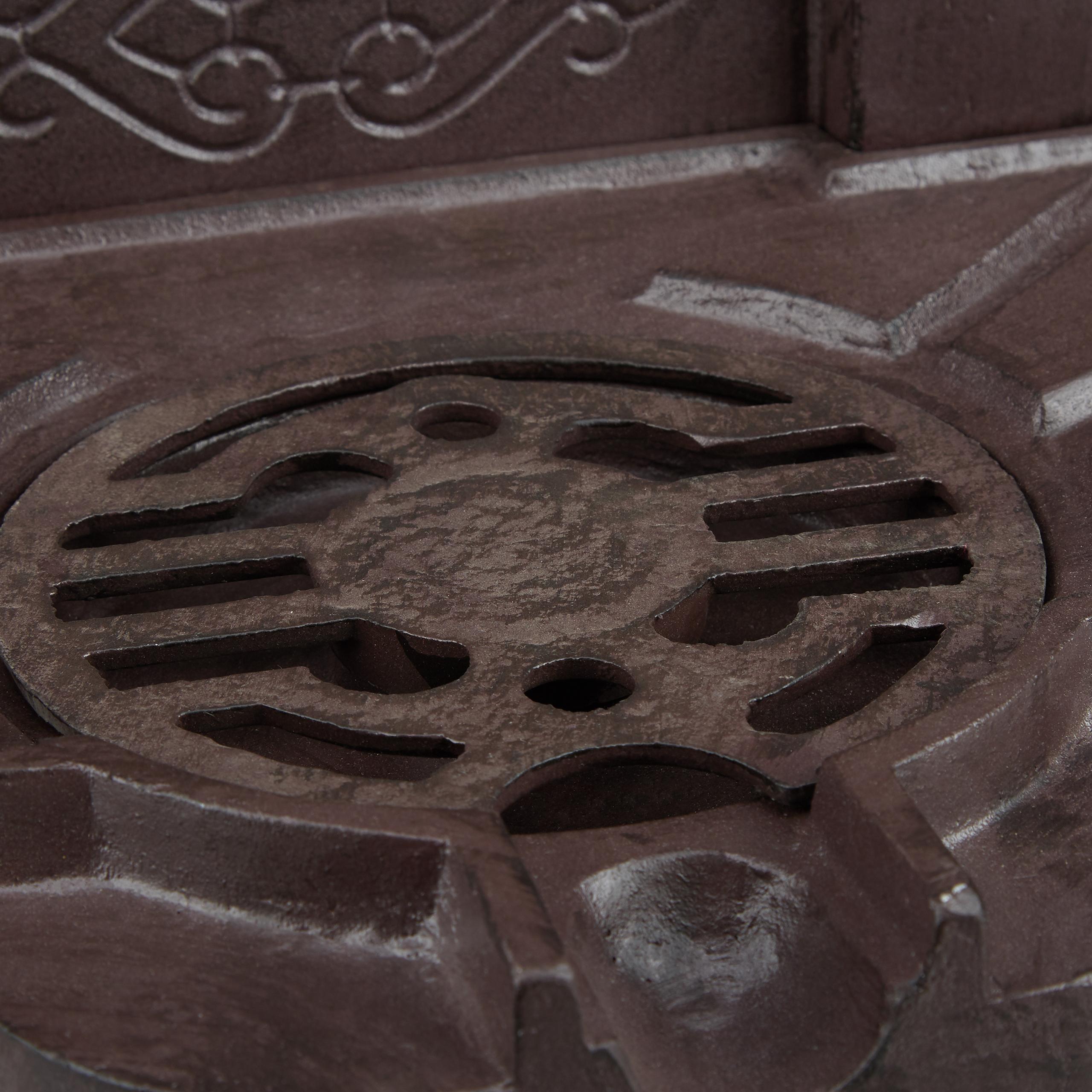 Standbrunnen Wasserstelle Brunnen Zapfstelle Metallbrunnen Gartenbrunnen