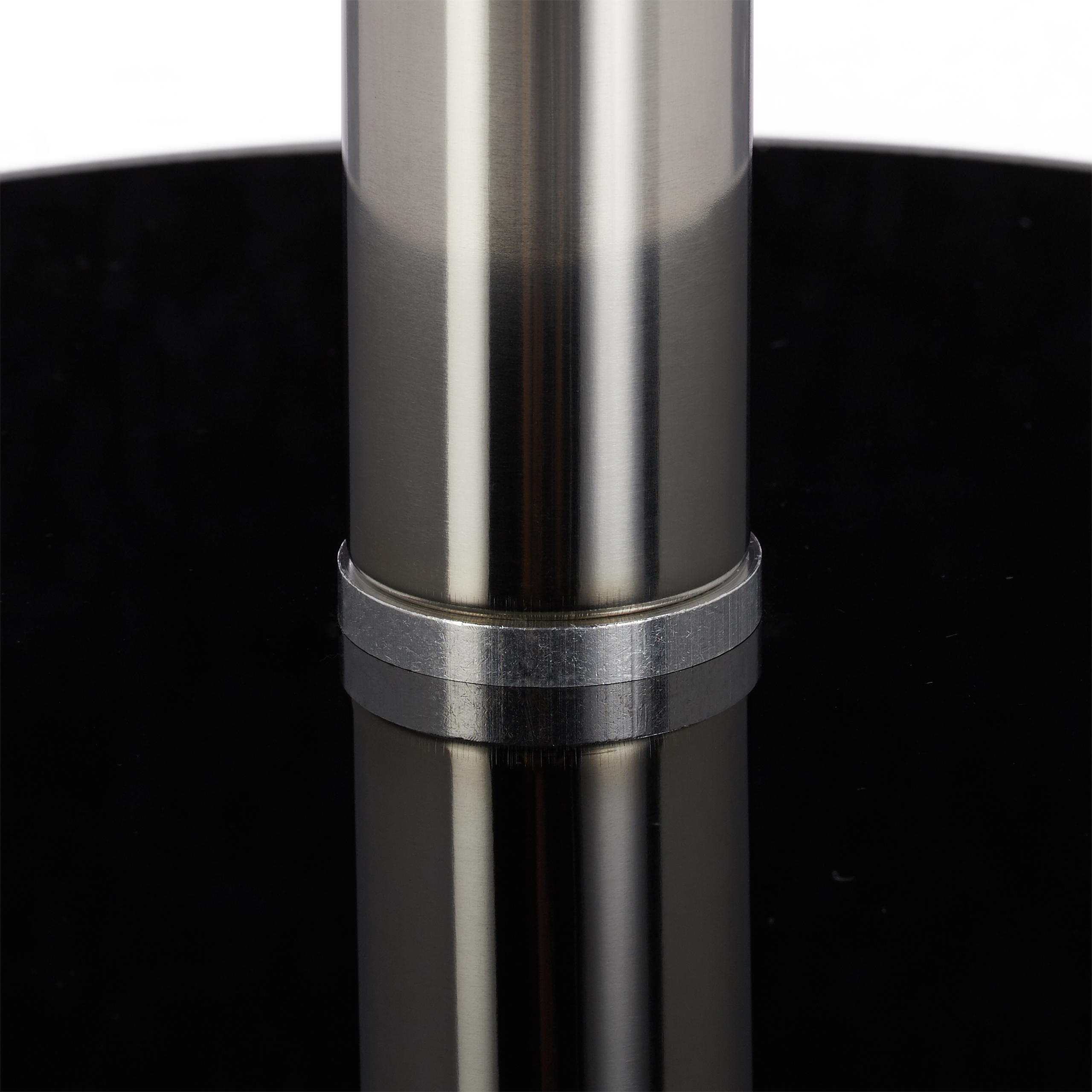 Beistelltisch glas edelstahl rund designertisch sofatisch kaffeetisch ziertisch ebay for Beistelltisch glas edelstahl