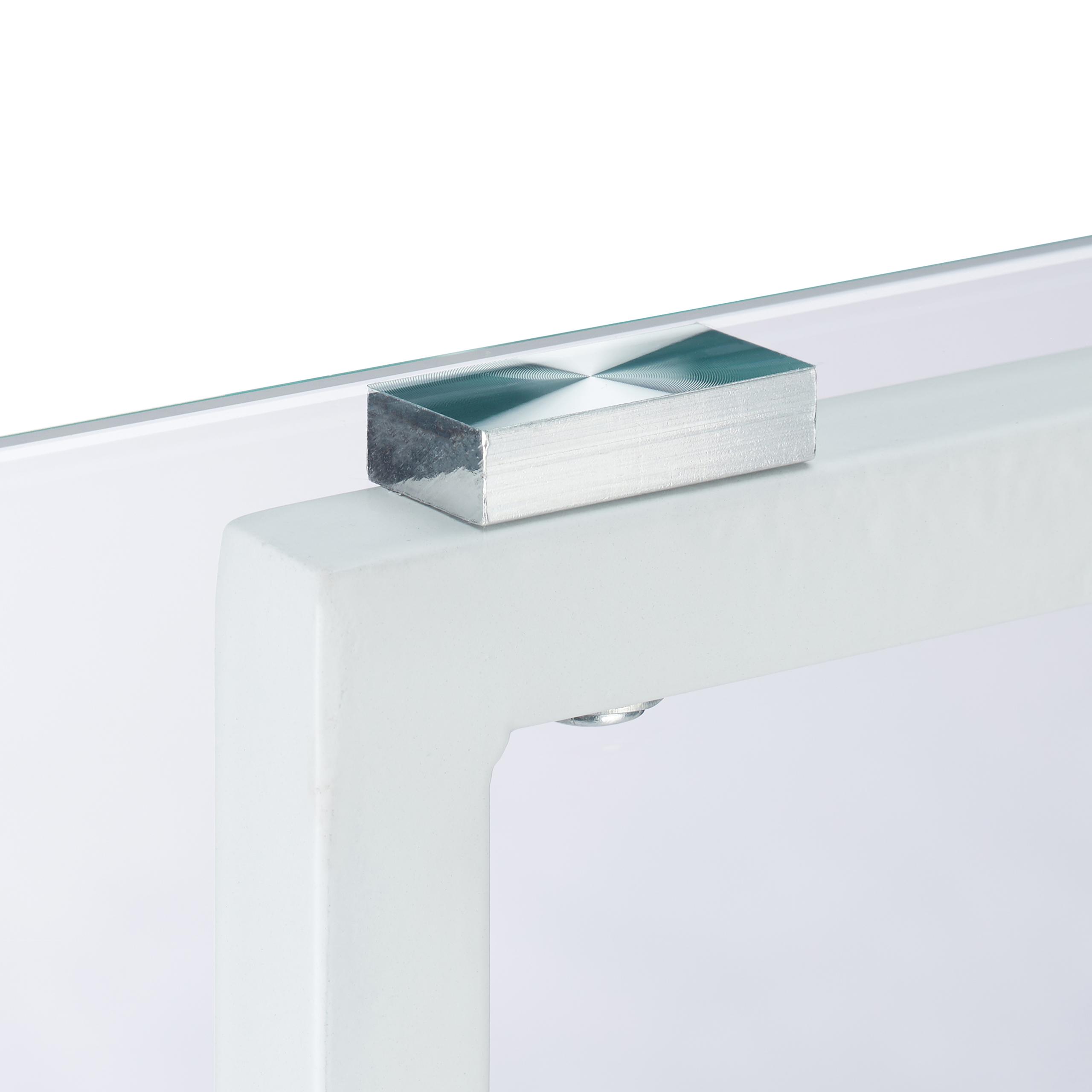 beistelltisch metall glas dekotisch kleiner couchtisch. Black Bedroom Furniture Sets. Home Design Ideas