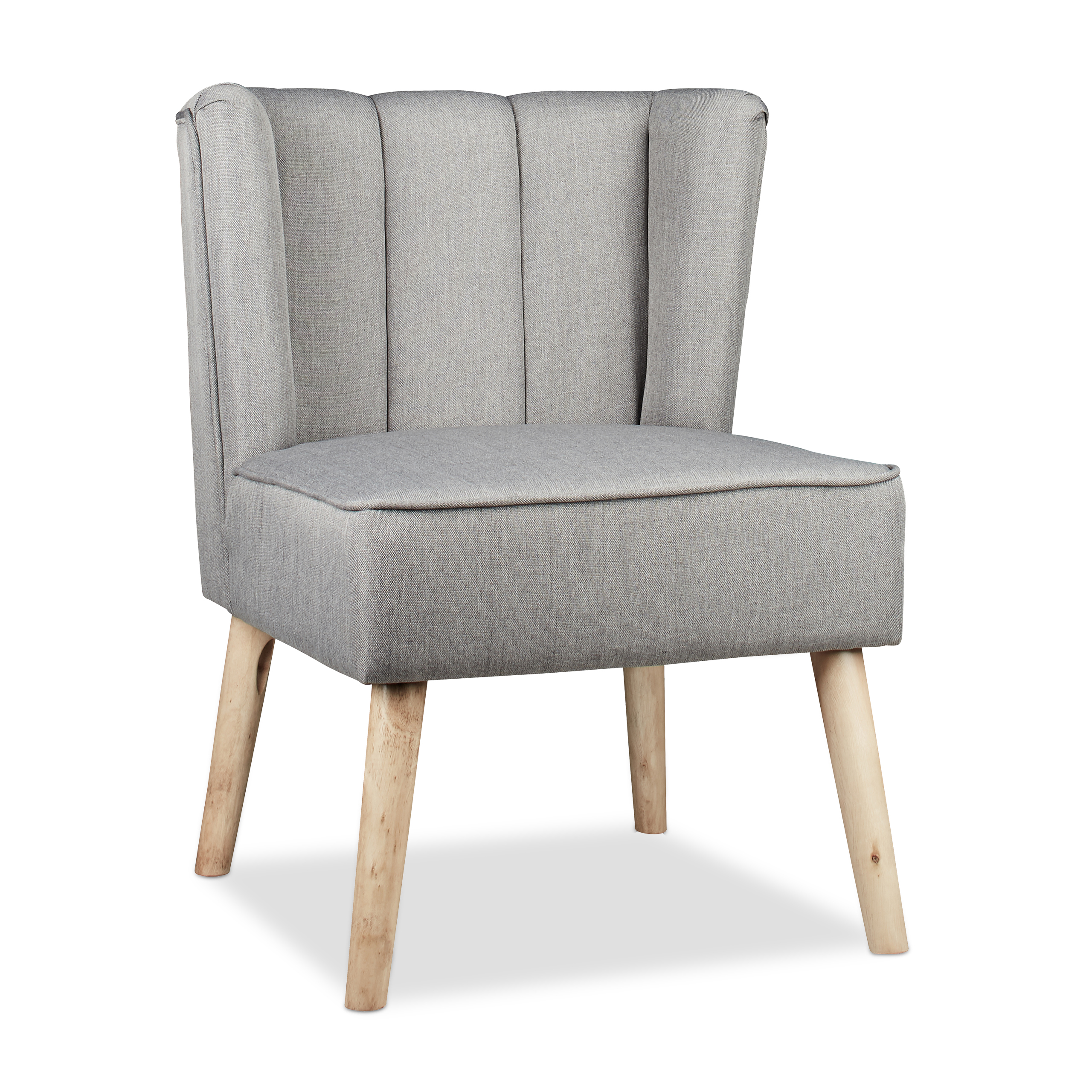ohrensessel retro 50er grau sessel loungesessel relaxsessel polstersessel ebay. Black Bedroom Furniture Sets. Home Design Ideas