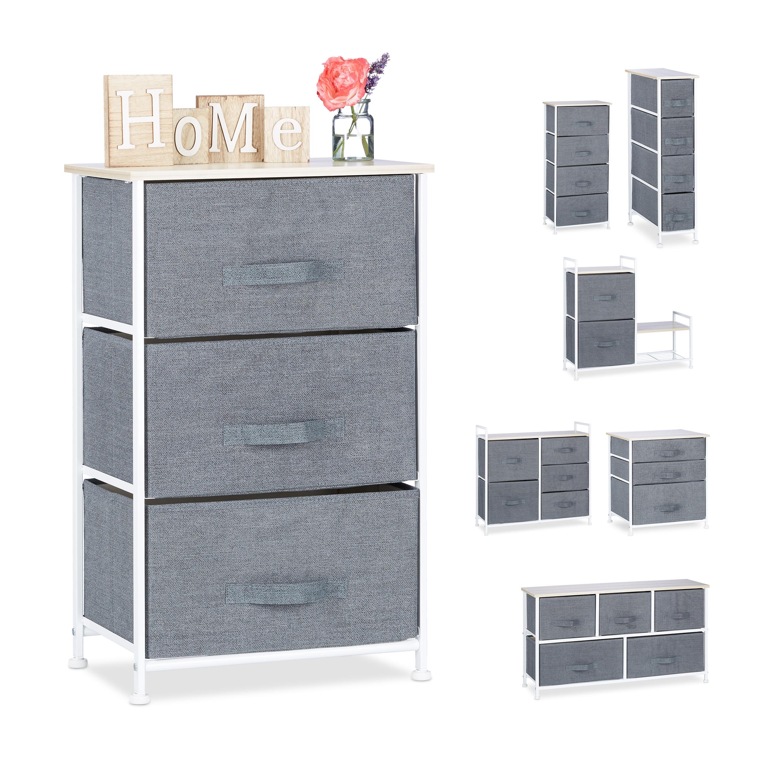 Details About Shelving System Metal Schubladenbox Shelf Dresser Shelf Drawers Grey Baskets Show Original Title