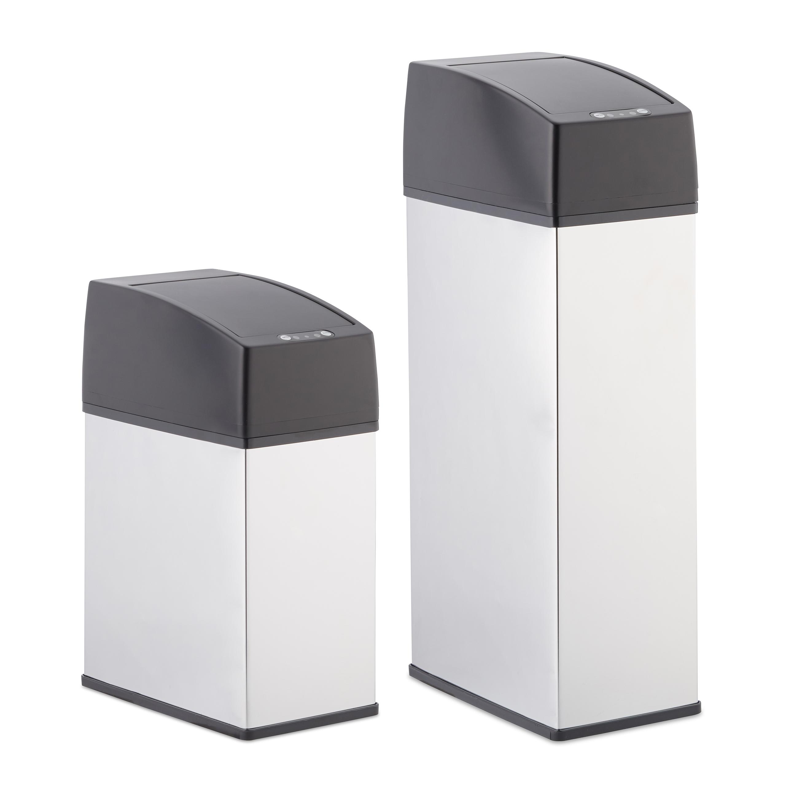 Sensor Mülleimer Edelstahl Abfallbehälter Abfalleimer