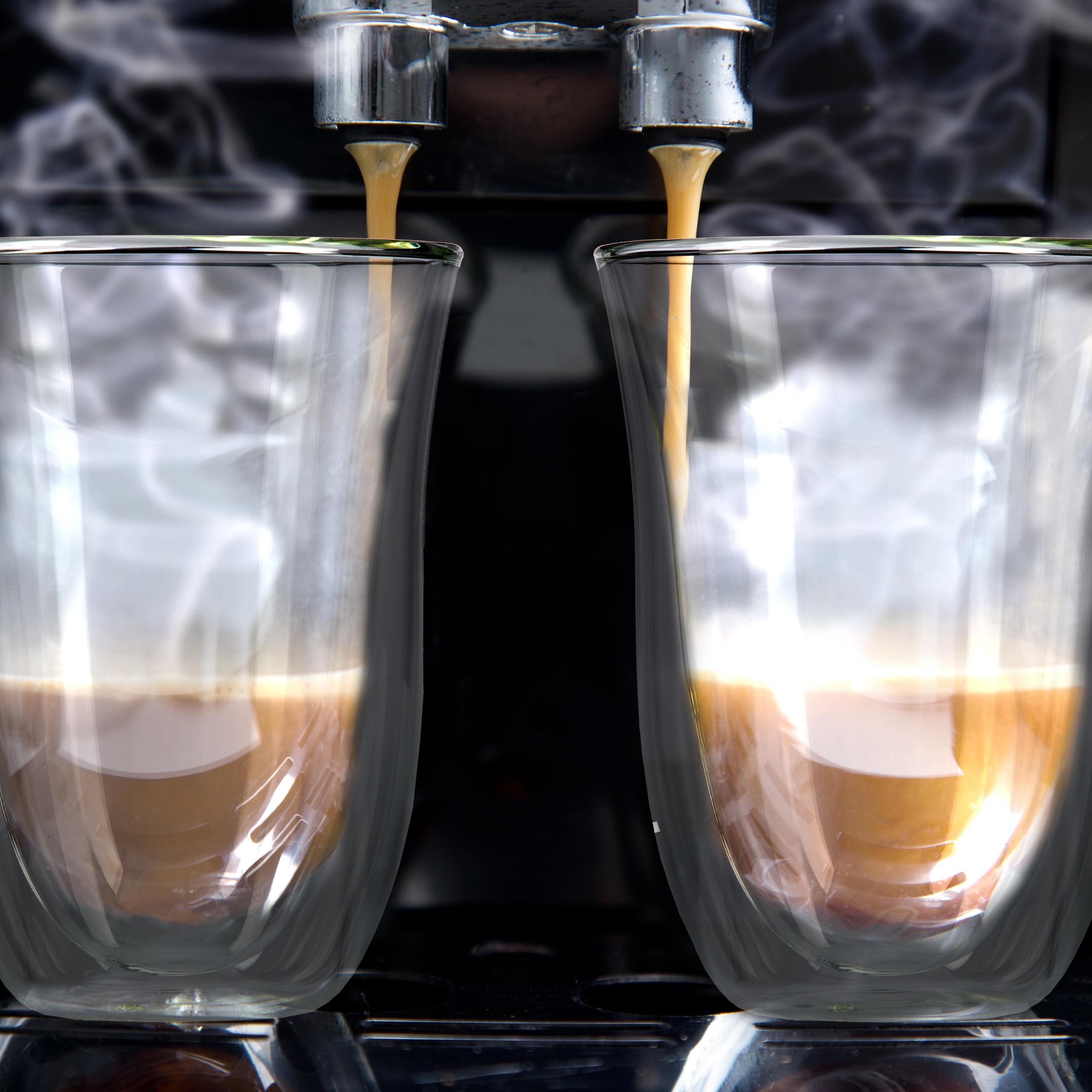 Thermoglaeser-Set-2-Glaeser-Doppelwand-Latte-Macchiato-Cappuccino-Espresso Indexbild 4