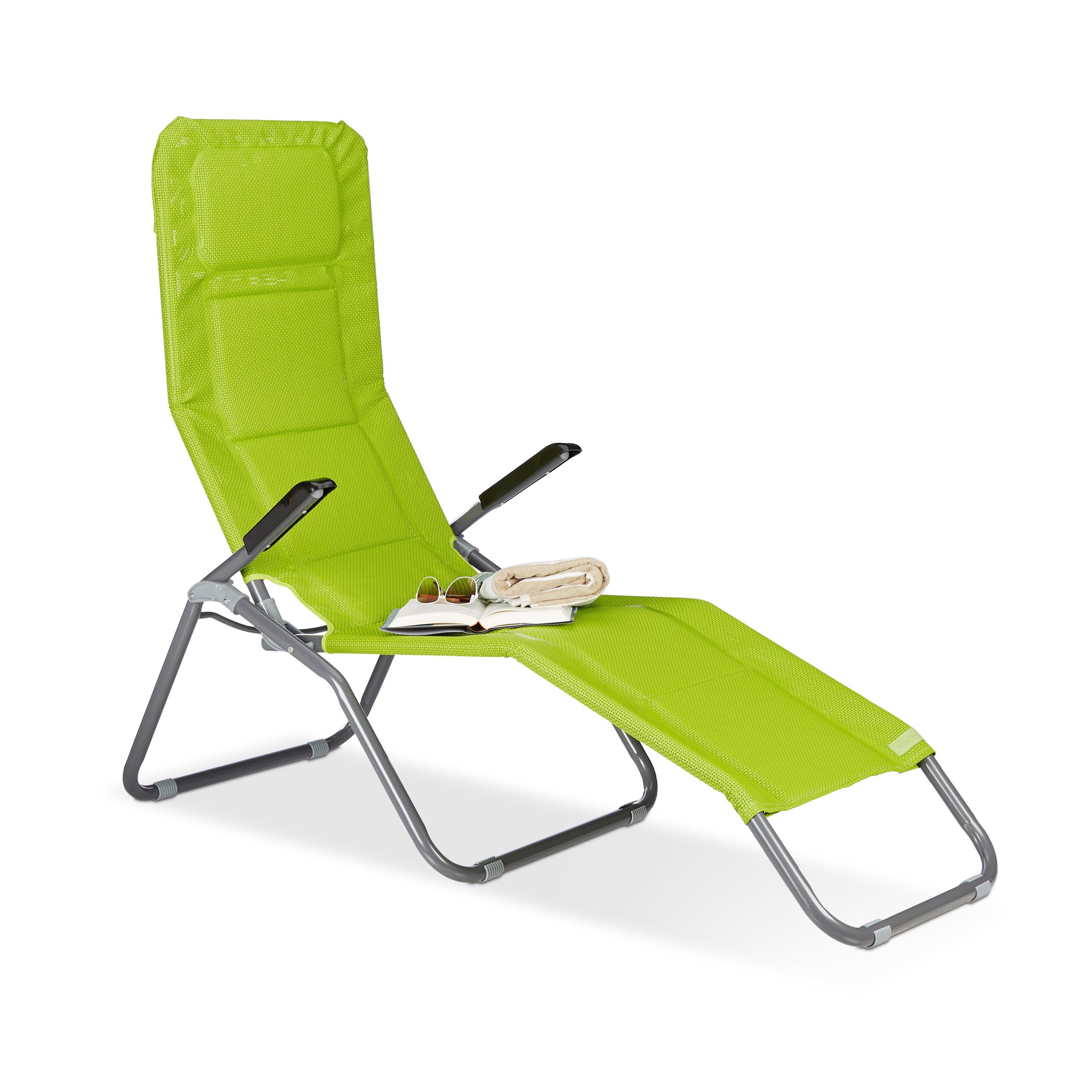 gartenliege xxl strandliege b derliege polster liege kippliege sonnenliege ebay. Black Bedroom Furniture Sets. Home Design Ideas