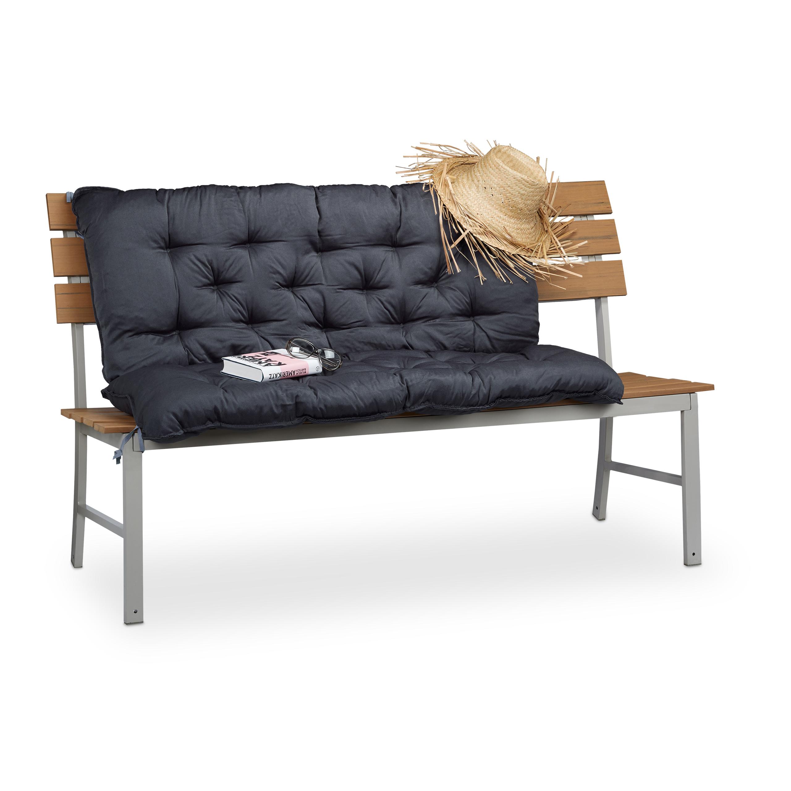 Cuscino per panca con schienale, 120x100, imbottitura per panchina ...