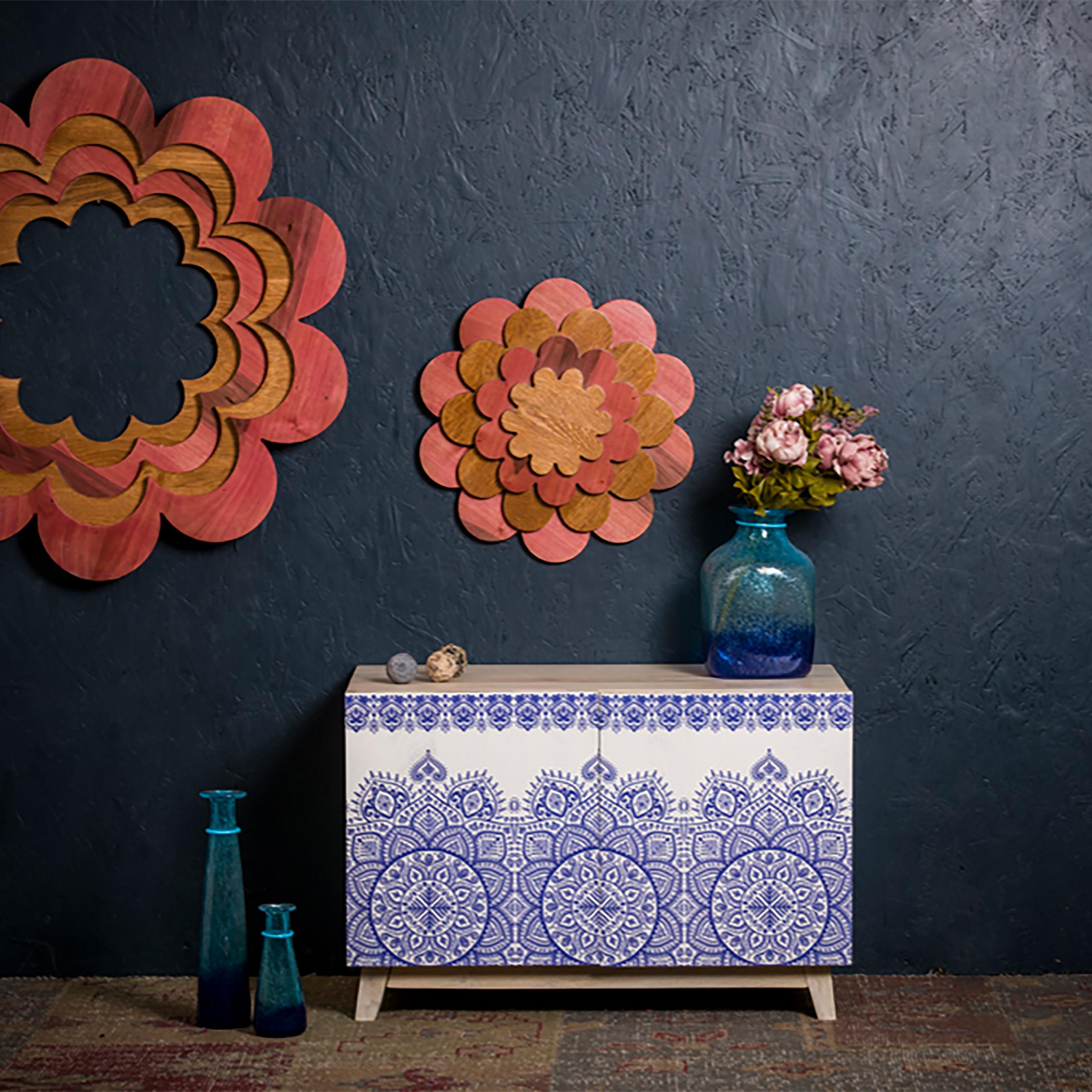 Sideboard Orientalisch Kommode Holz Wohnzimmerschrank Modern