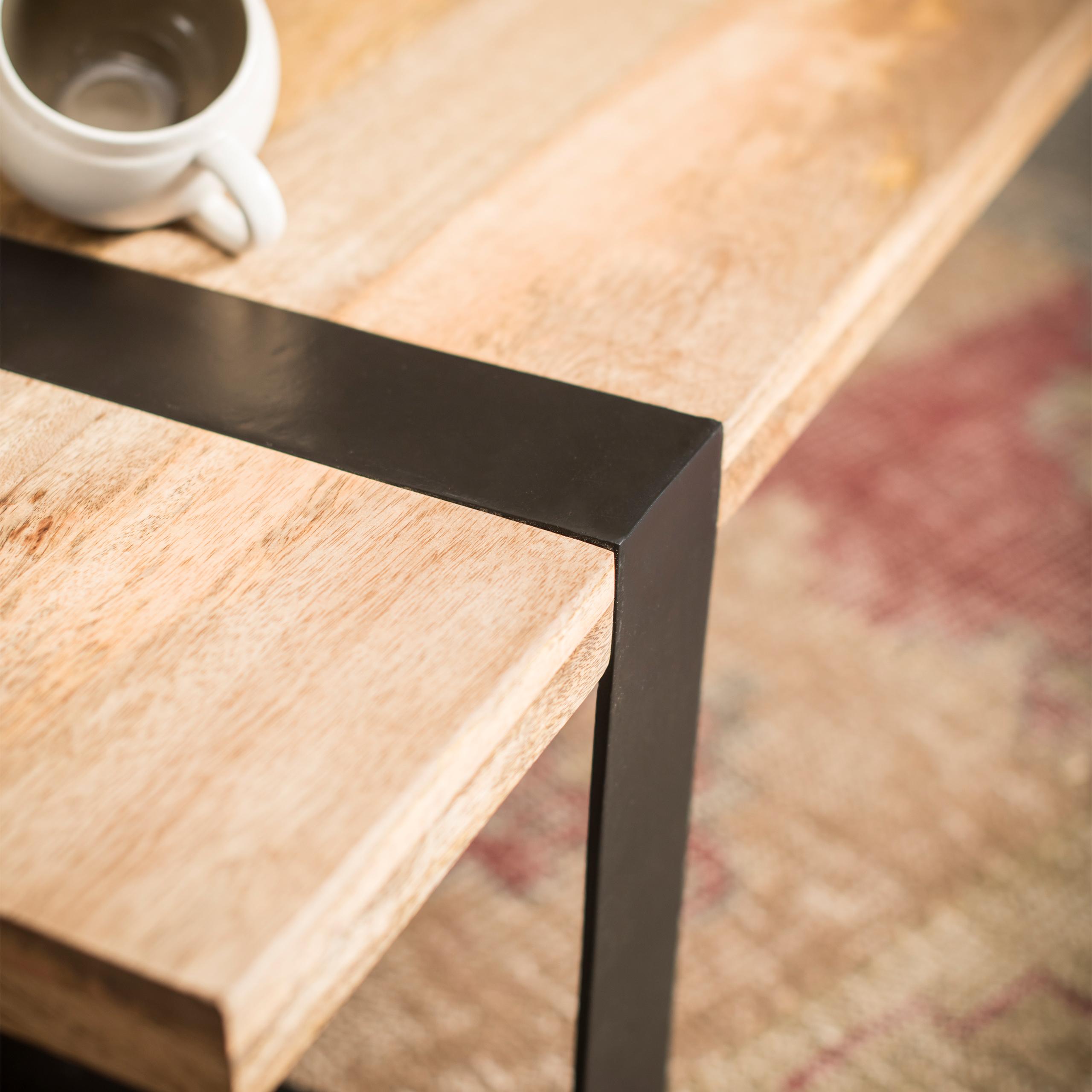 Couchtisch massivholz wohnzimmertisch modern holztisch for Massivholz wohnzimmertisch