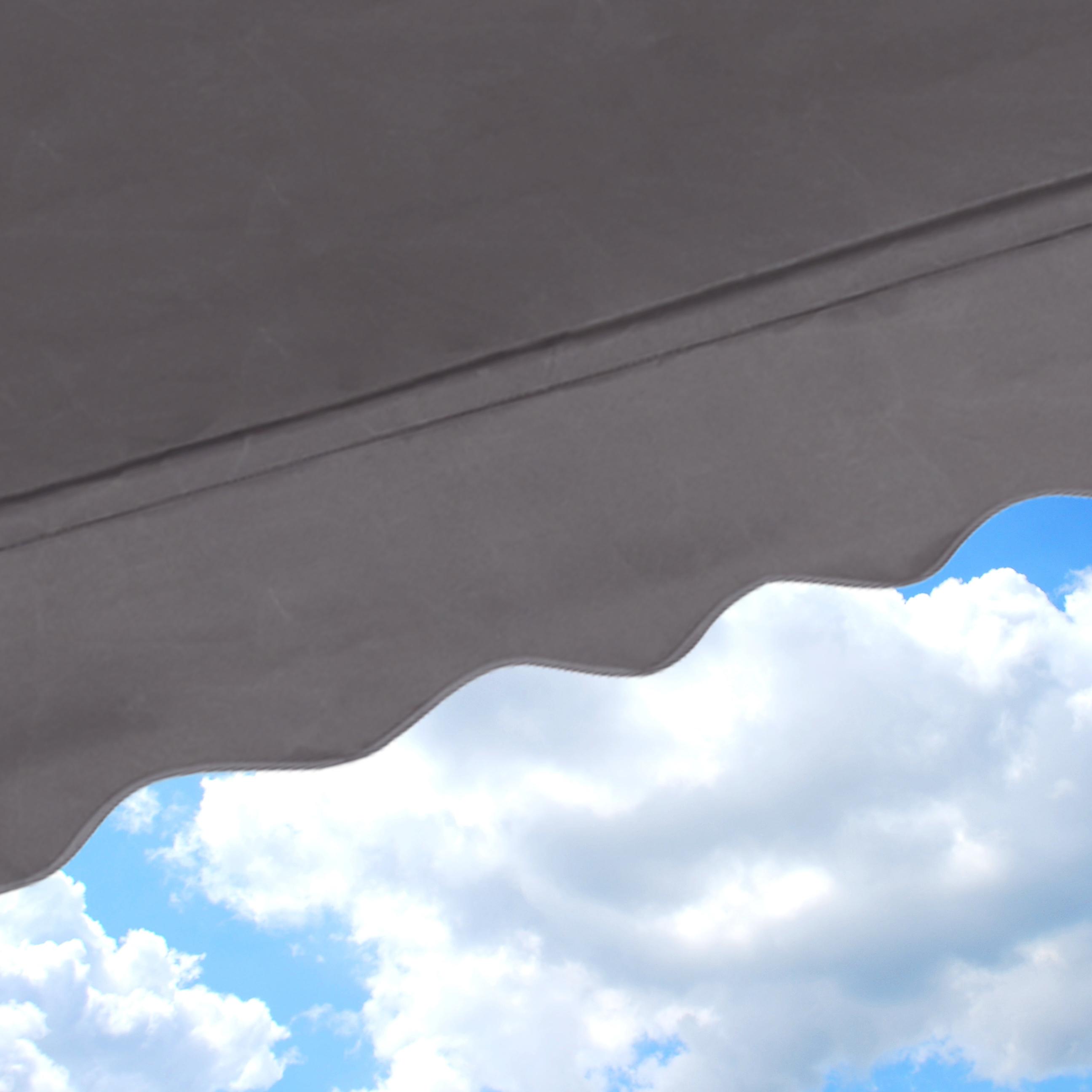Super Klemmmarkise Balkon Markise Balkonmarkise Sonnenmarkise Sonnendach IU59