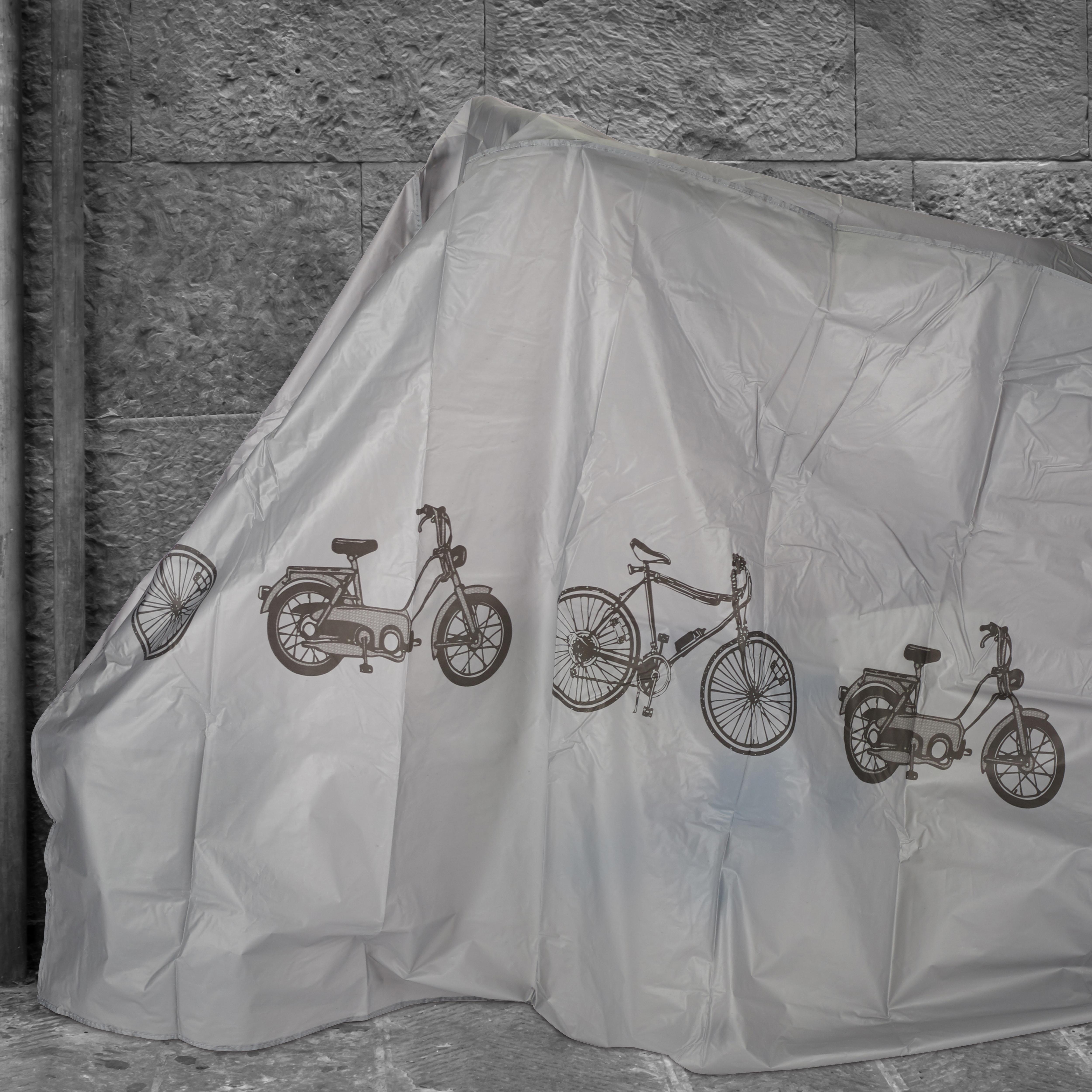 Fahrradgarage Schutzhülle Abdeckung robust wetterfest Staubschutz versch Farben Fahrradzubehör Radsport