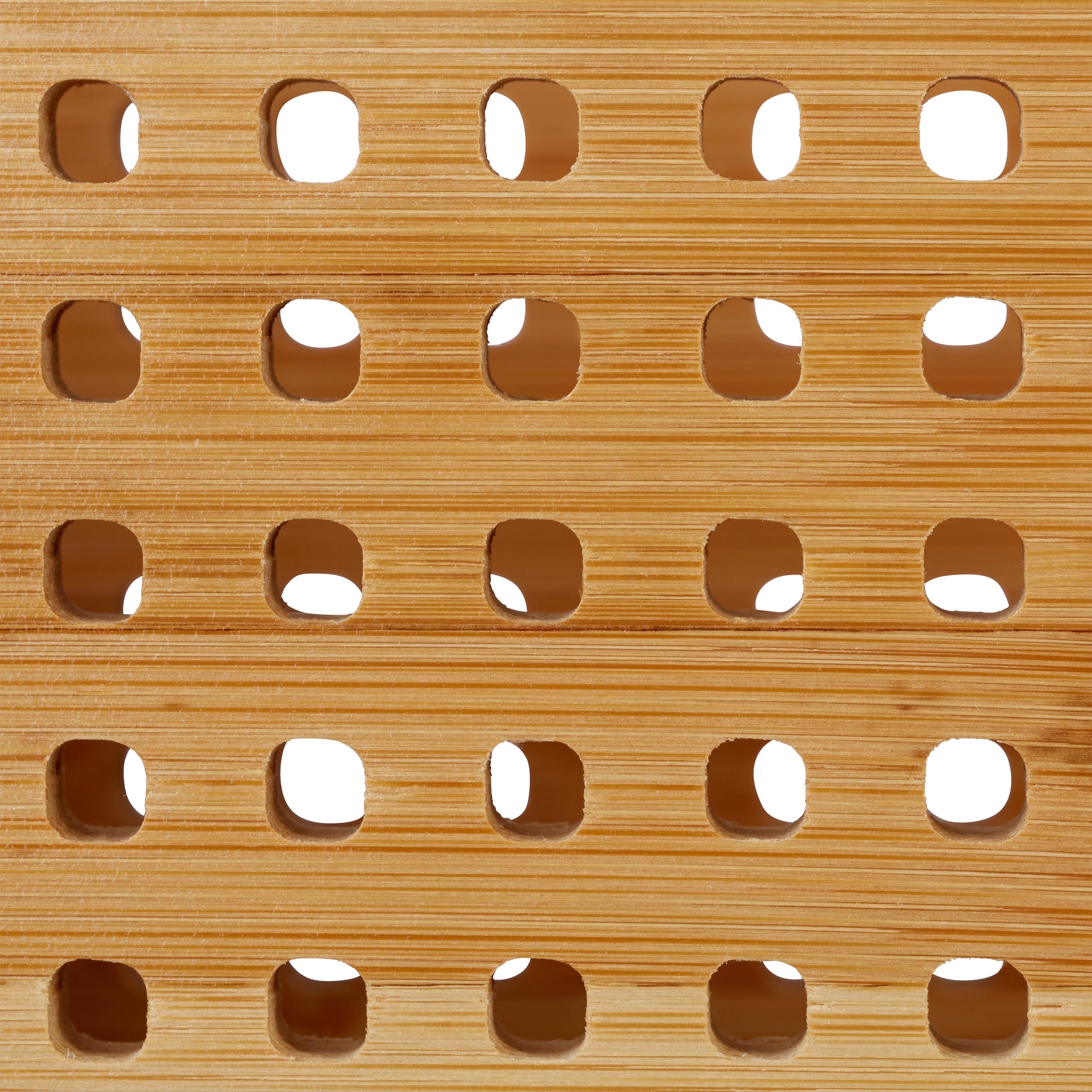 Stehsammler Bambus Zeitschriftensammler A4 XL Zeitschriftenordner Stehordner
