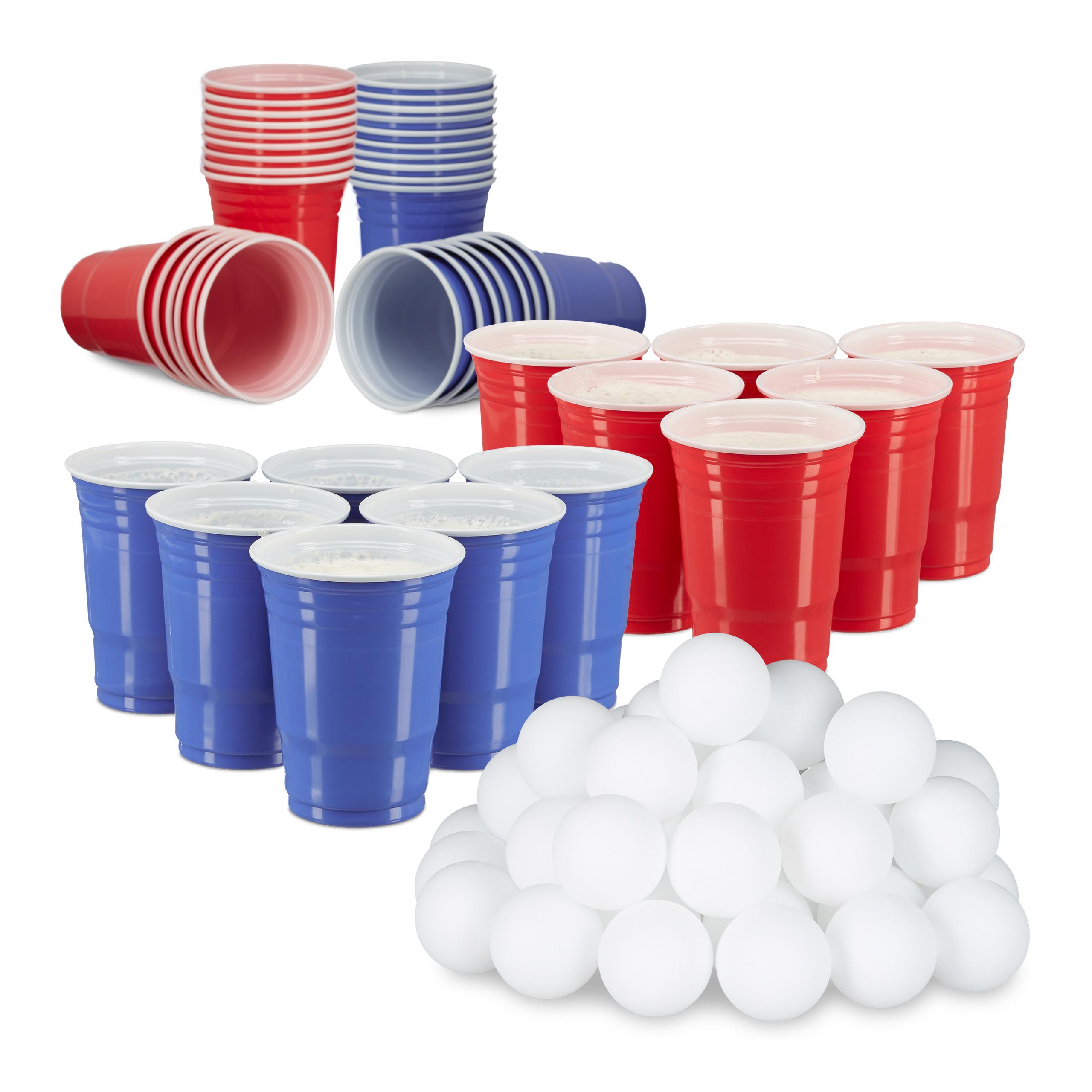 Bier Pong Tisch Bierpong Bier-Pong-Tisch Partyspiel Trinkspiele Spieltisch