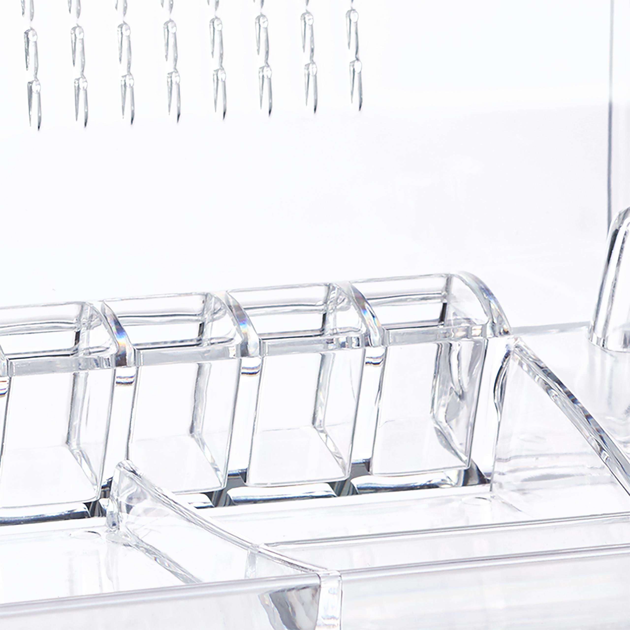 Kosmetikorganizer-Acryl-Make-up-Organizer-Schminkaufbewahrung-Schmuckorganizer miniatuur 5