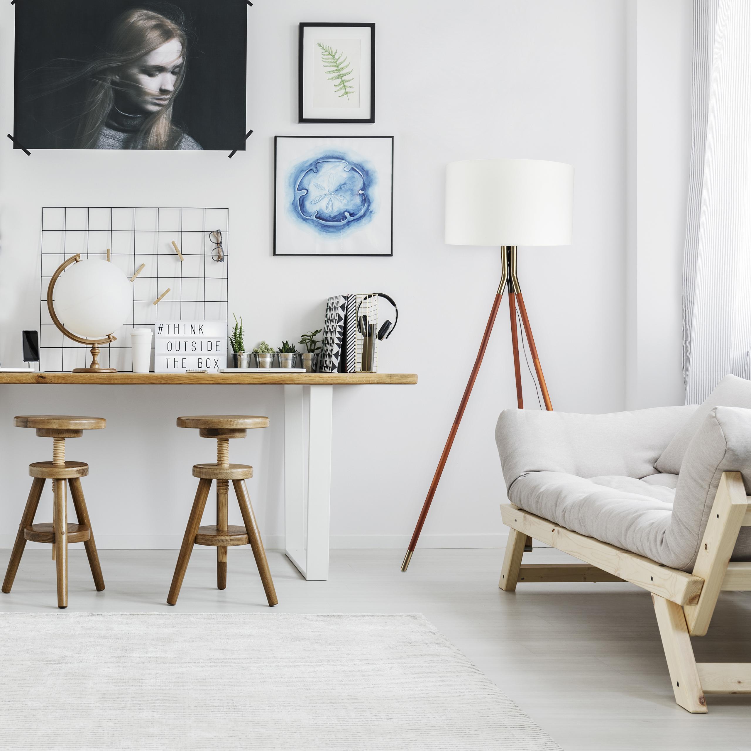 stehleuchte wohnzimmer 3beinig wohnzimmerlampe