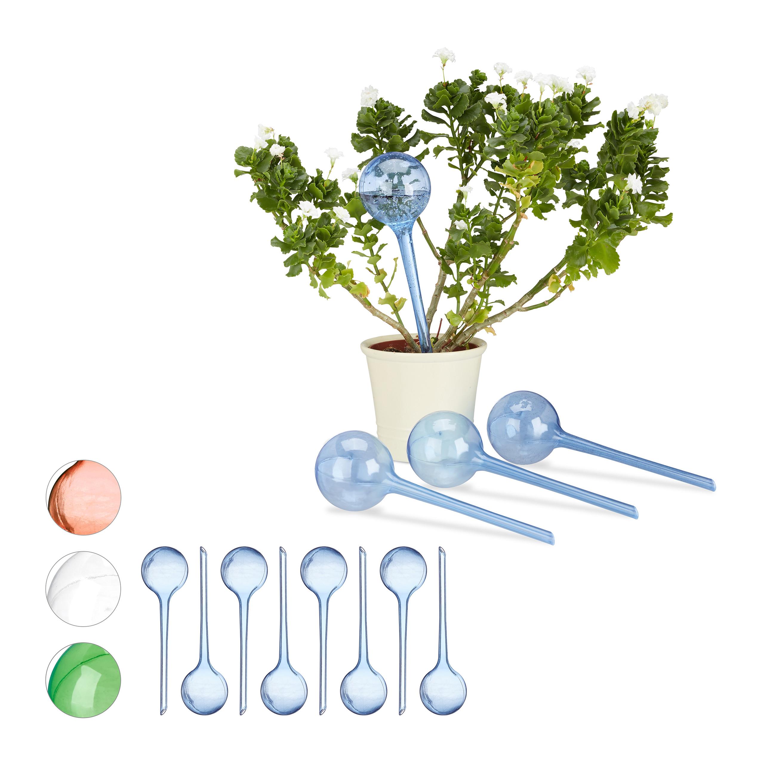 12er set bew sserungskugeln blau wasserspender f r for Wasserspender fur pflanzen