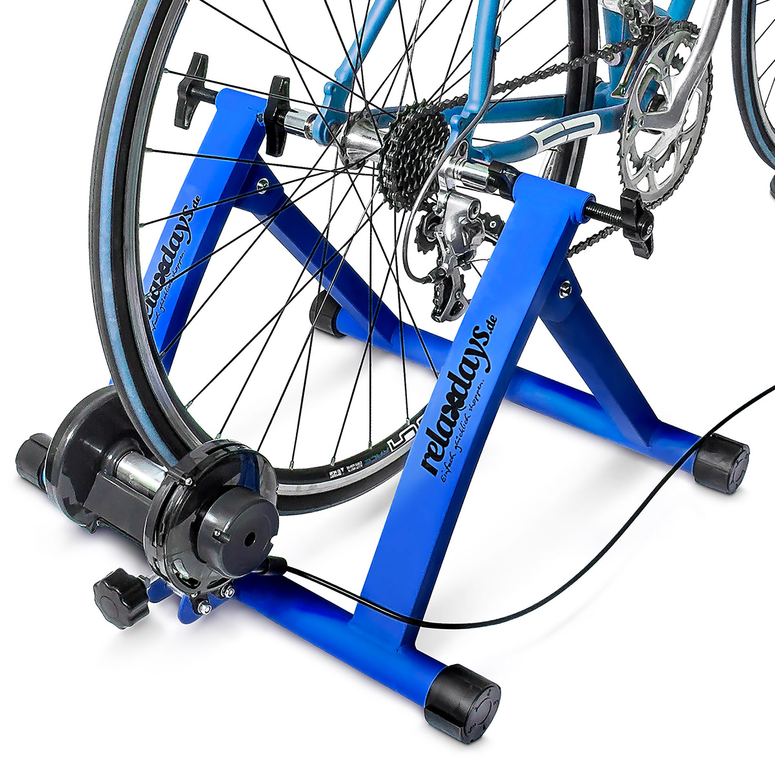 Indoor-Bicycle-Resistance-Trainer-Cycling-6-Gears-26-28-034-2-Colours-Blue-Green