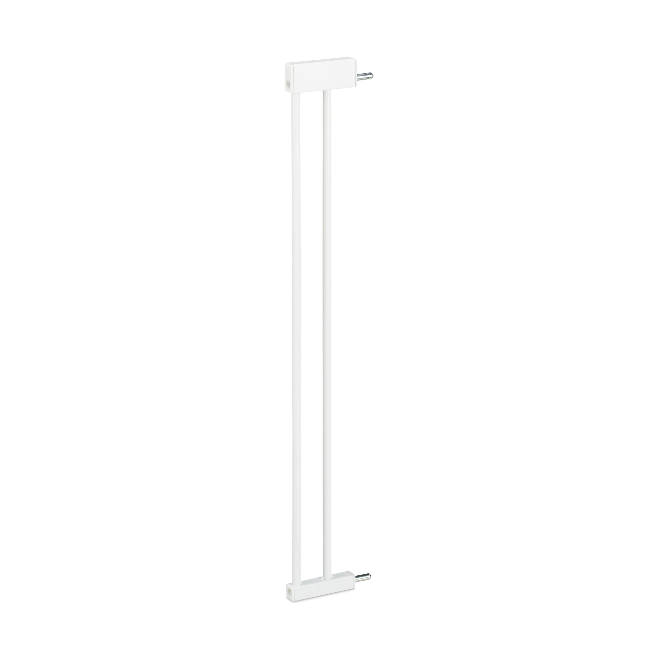 Verl/ängerung KIDIMAX Treppenschutzgitter Erweiterung wei/ß 20 cm steckbarer Gitter Aufsatz f/ür Treppenschutz