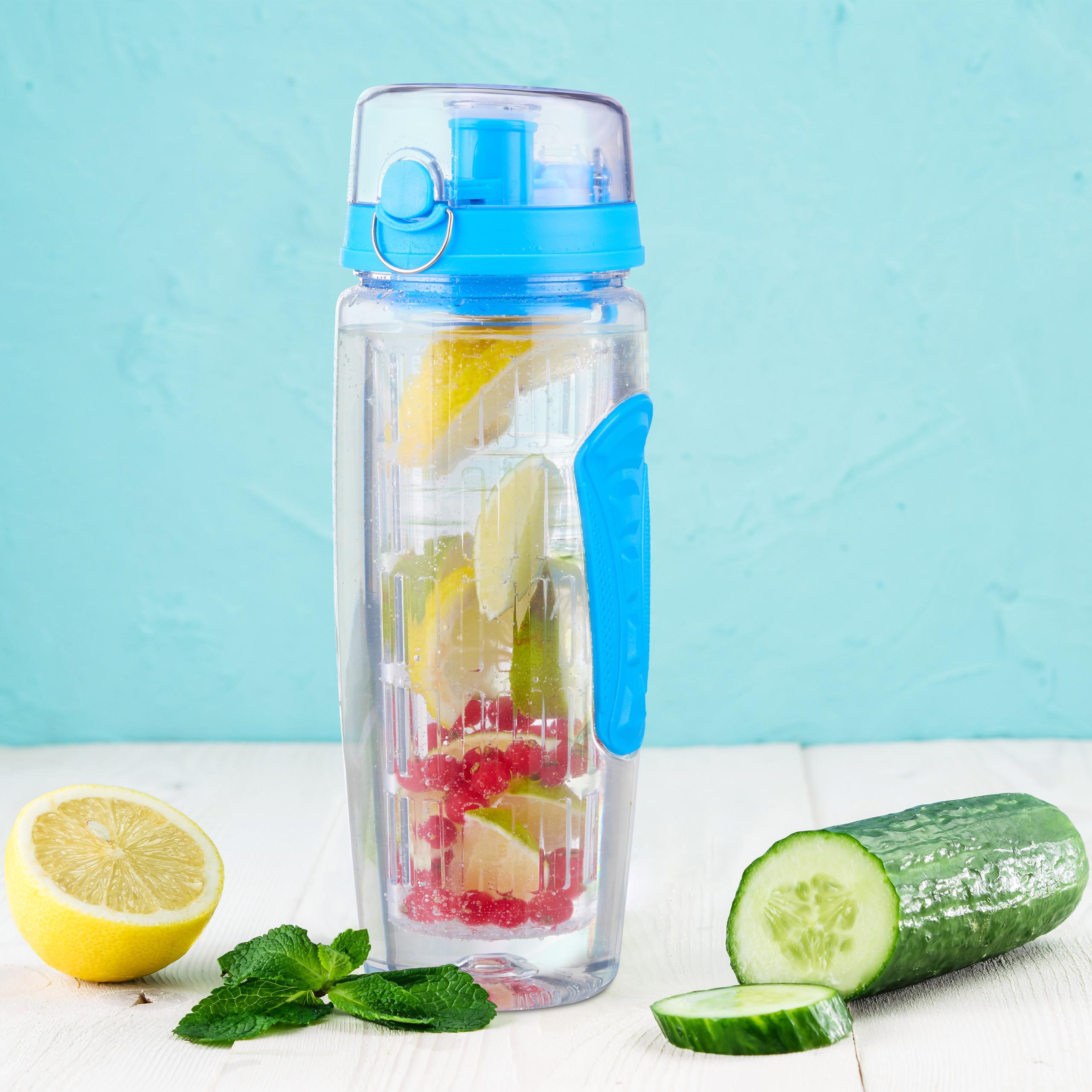 Indexbild 2 - 2 x Trinkflasche Obsteinsatz Infuser Trinkflasche Wasserflasche Infuser Bottle
