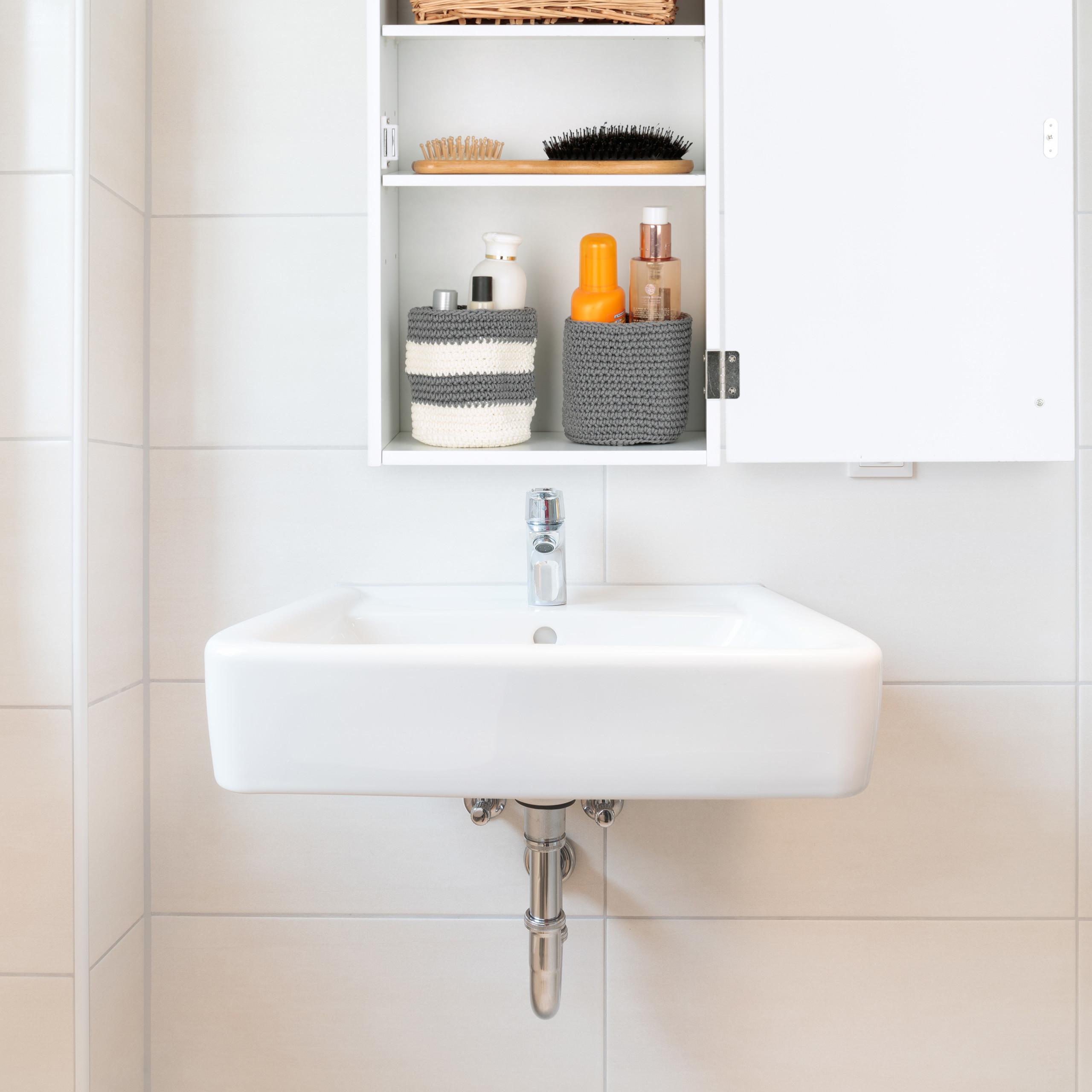 Badezimmerschrank Hängend Holzhängeschrank WC Hängeschrank