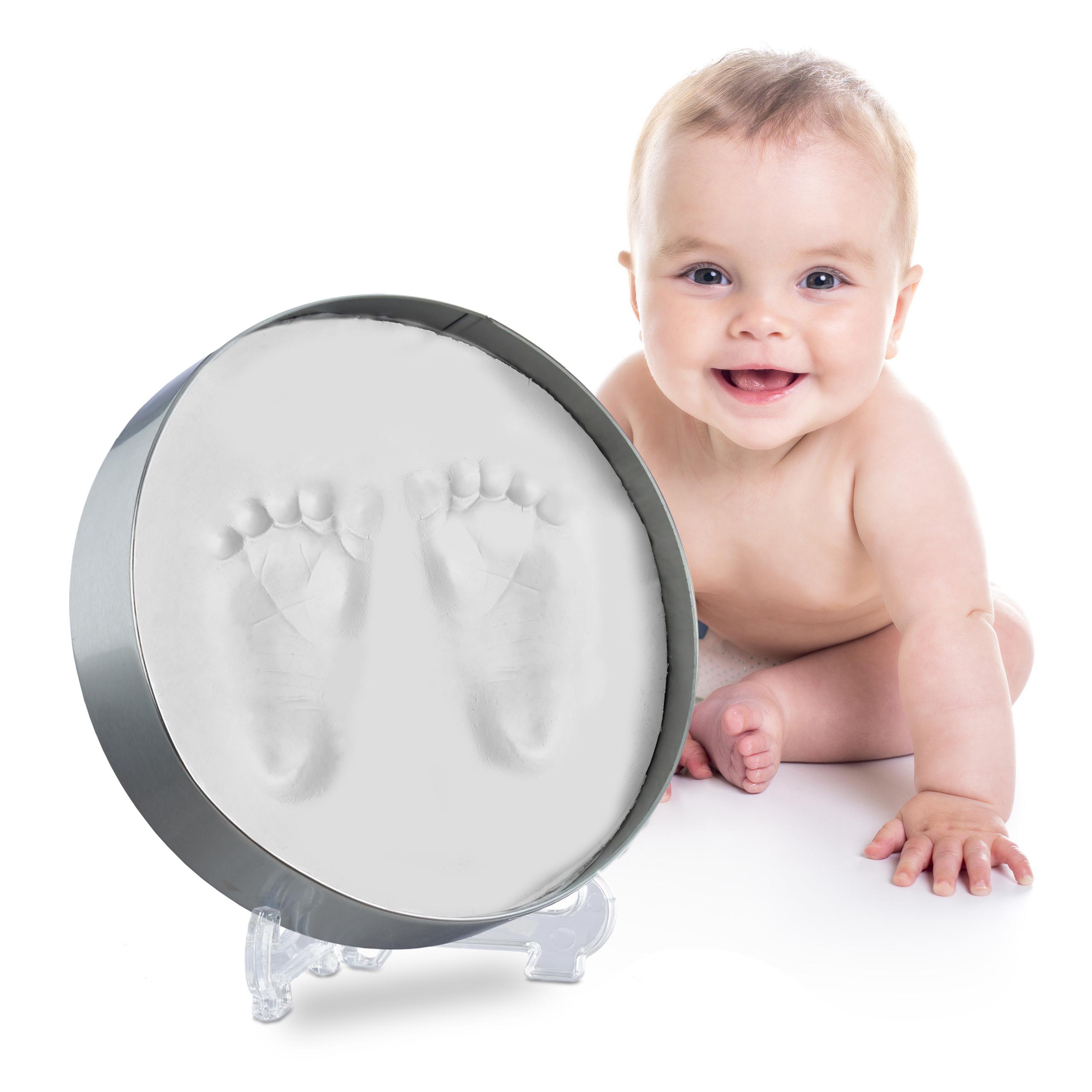 Baby Gipsabdruck Hand Abdruck Fuss Abdruck Set Modellieren Geschenk zur Geburt