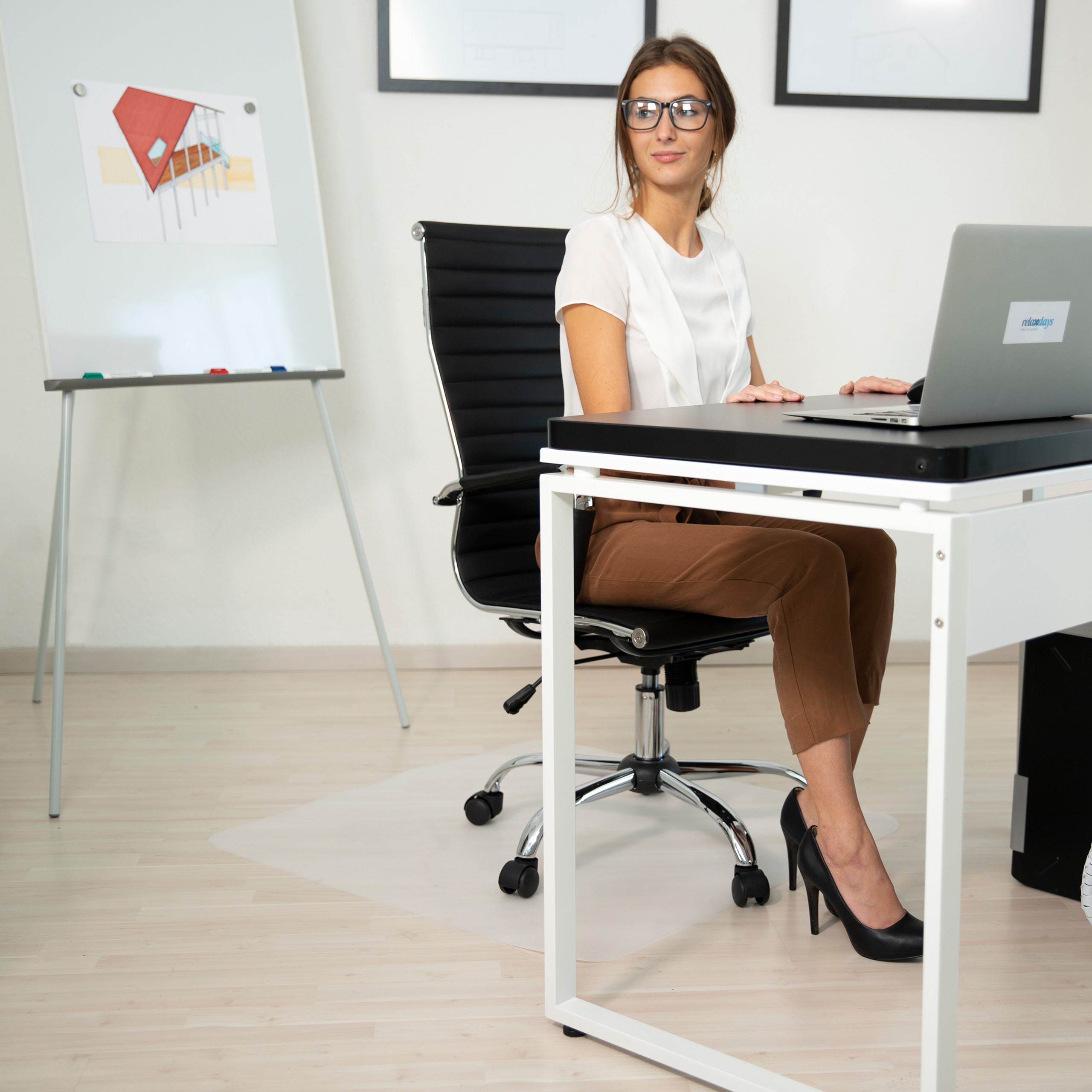 Bürostuhlmatten Unterlegmatte Bodenschutzmatten Bürostuhlunterlage Büromatte