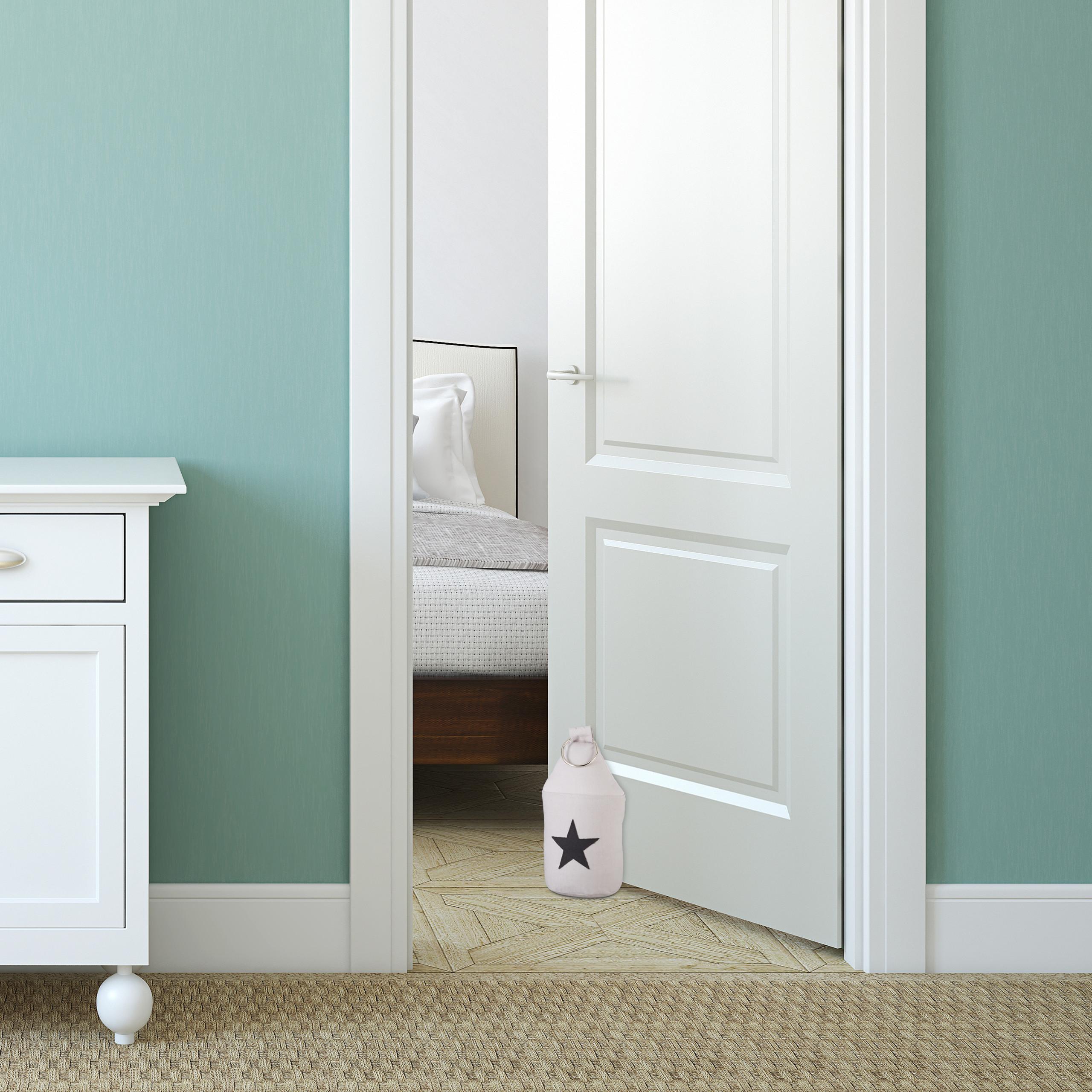 Door-Stop-with-Star-Fabric-Bumper-Floor-Doorstop-Tall-with-Handle-Chic thumbnail 11