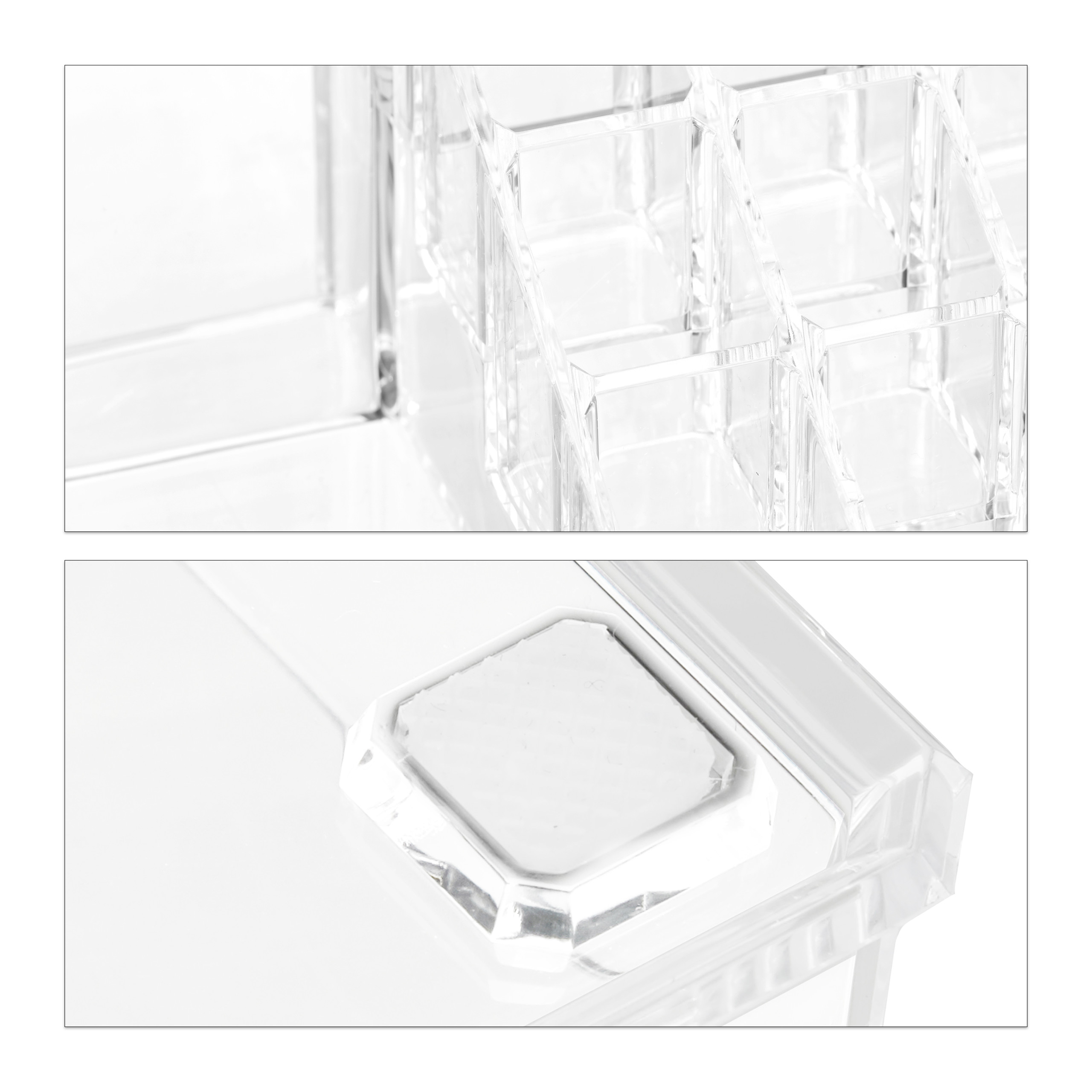 make-up-organizer-opbergen-van-cosmetica-acryl-stapelbaar-met-lades miniatuur 10