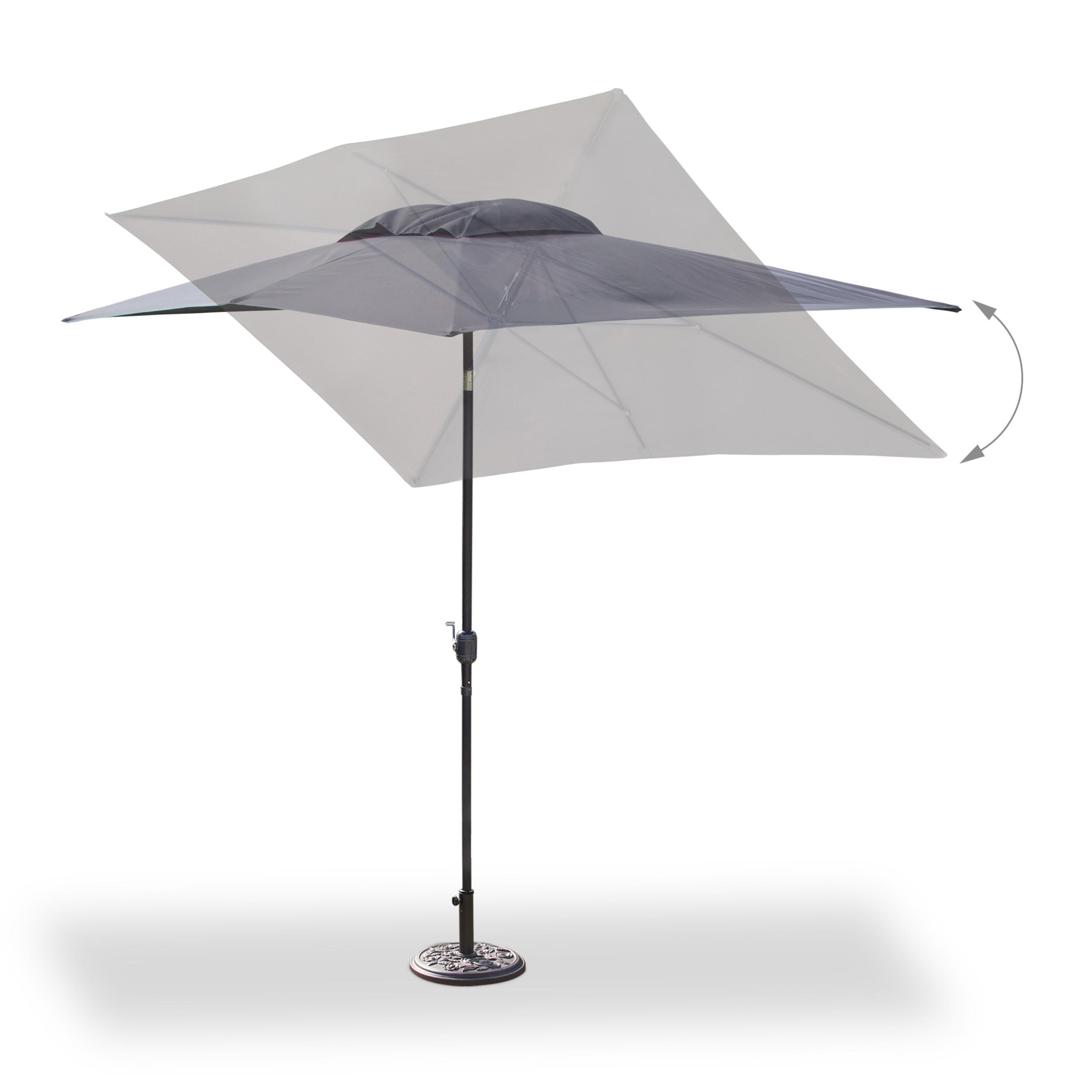 parasol rectangulaire 200 x 300 parasol de jardin. Black Bedroom Furniture Sets. Home Design Ideas