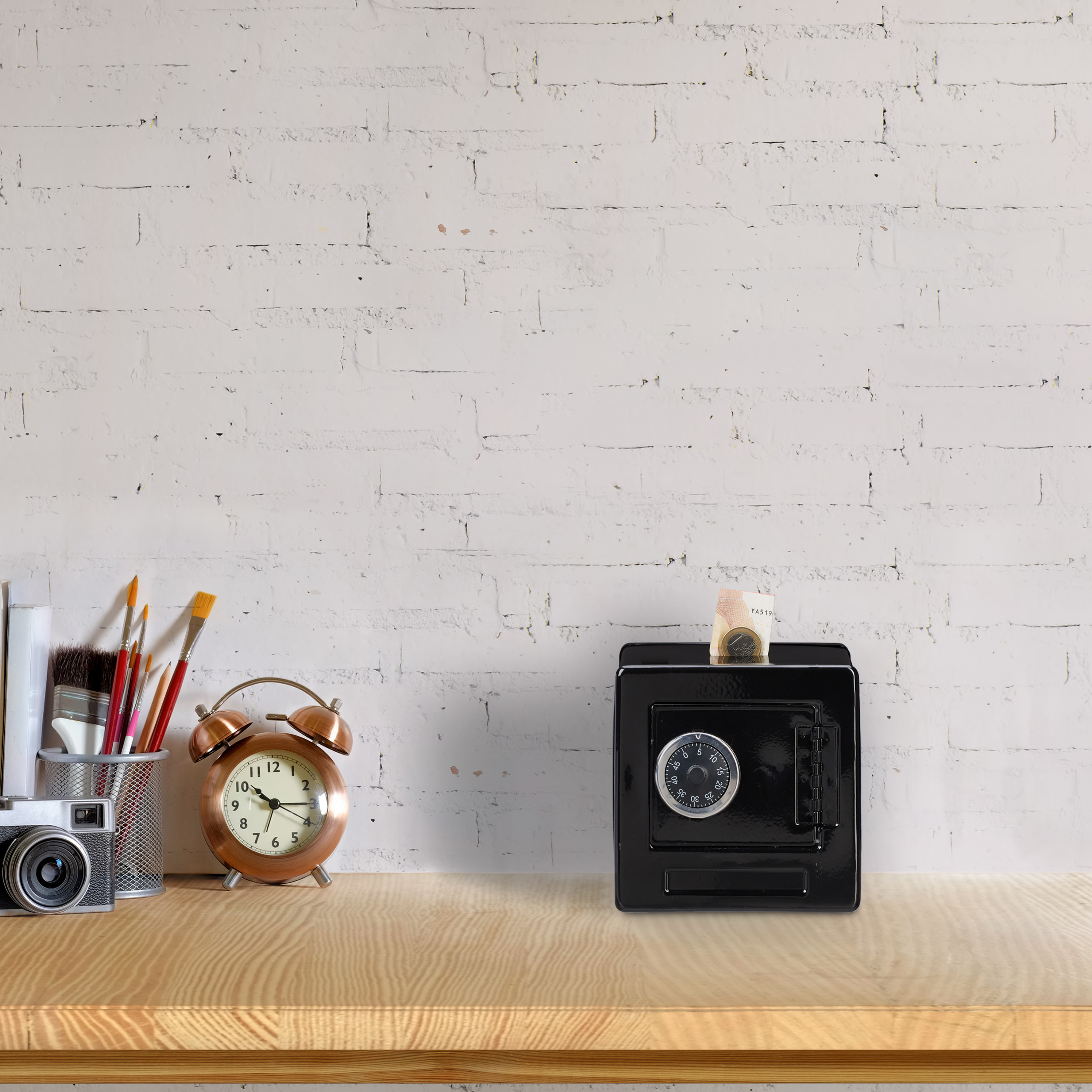 Spaarpot-kluis-code-cijferslot-kinderspaarpot-speelgoed-kluis-metaal miniatuur 13