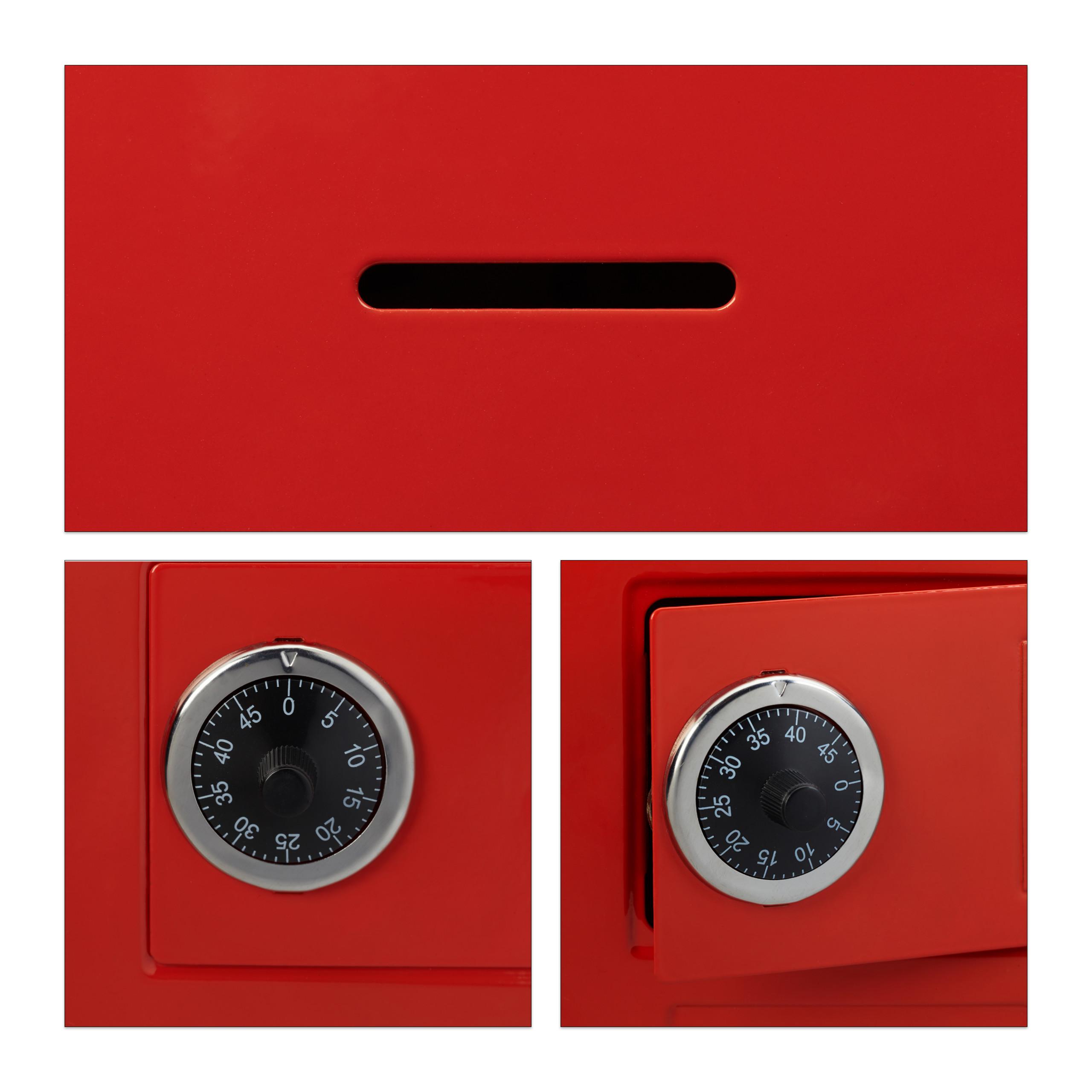 Spaarpot-kluis-code-cijferslot-kinderspaarpot-speelgoed-kluis-metaal miniatuur 11
