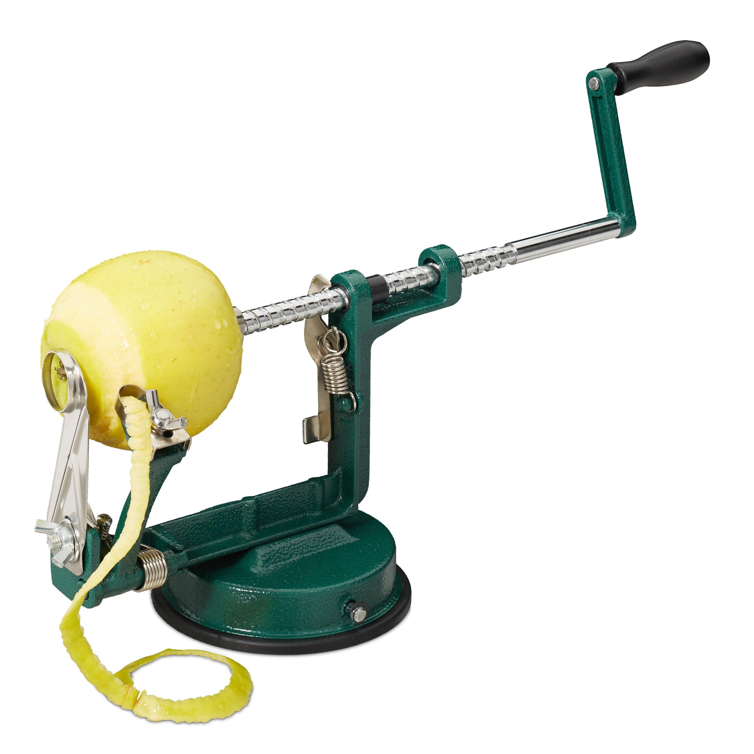 Apfelschälmaschine