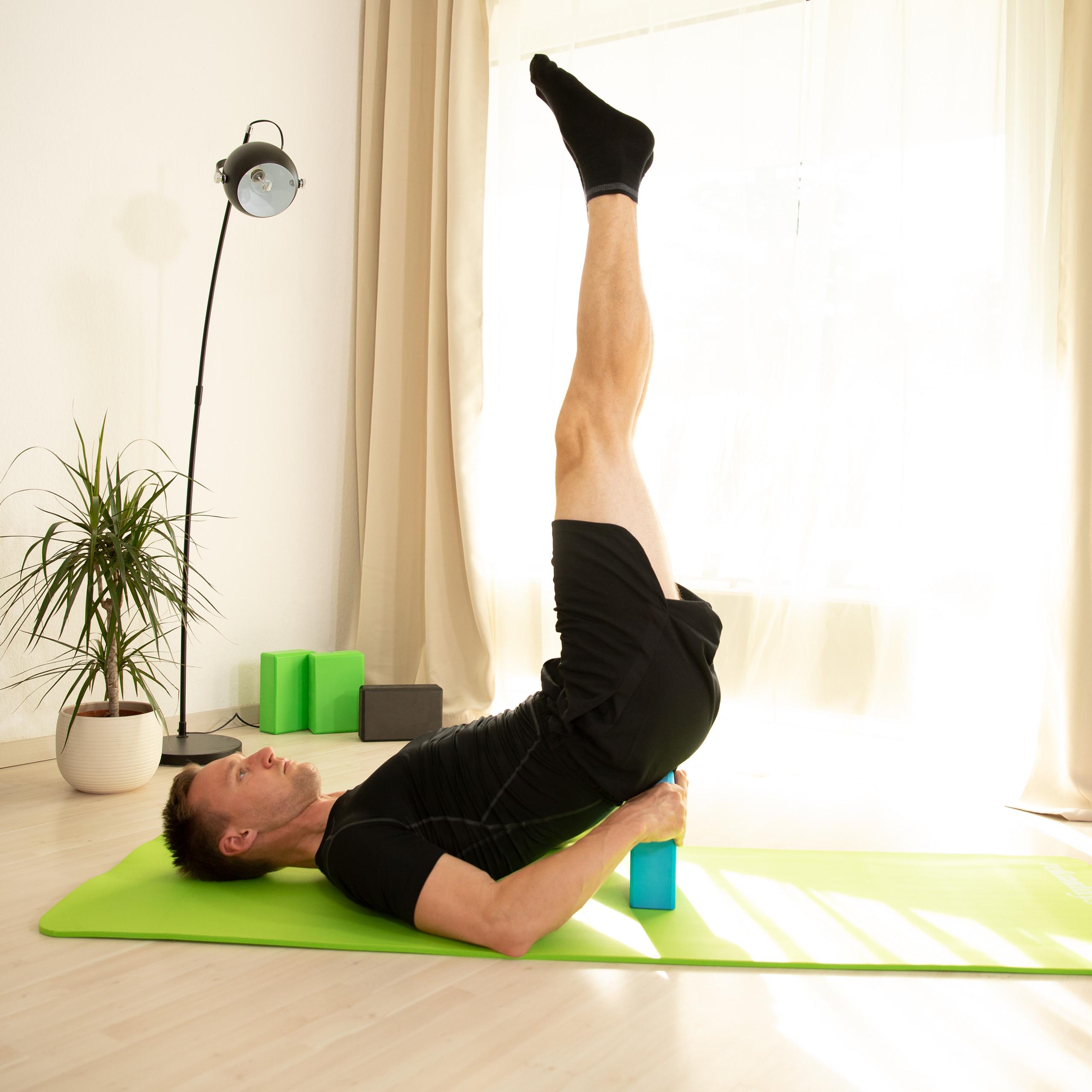 Pack-de-2-bloques-yoga-de-gomaespuma-Tacos-yoga-en-varios-colores-Ladrillos-yoga miniatura 5
