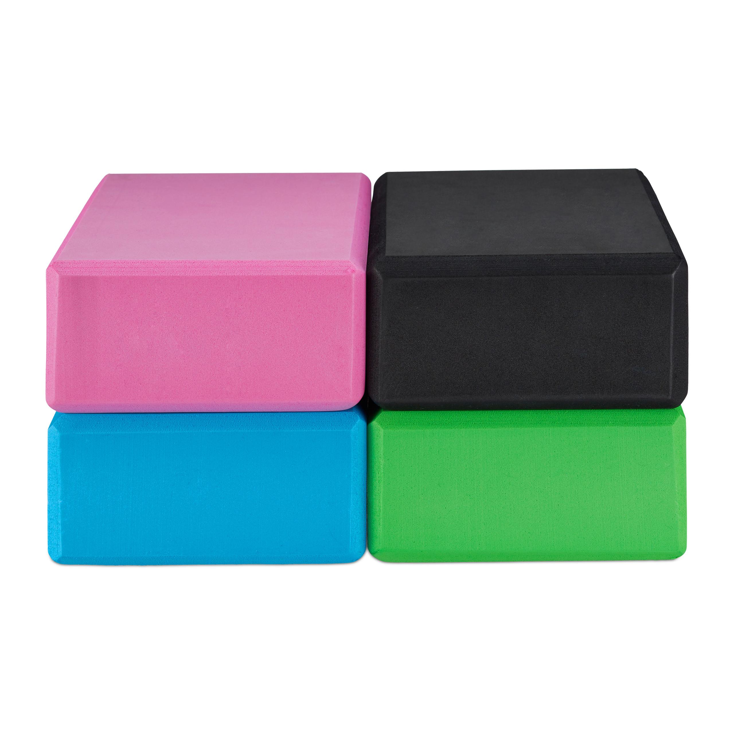 Pack-de-2-bloques-yoga-de-gomaespuma-Tacos-yoga-en-varios-colores-Ladrillos-yoga miniatura 9