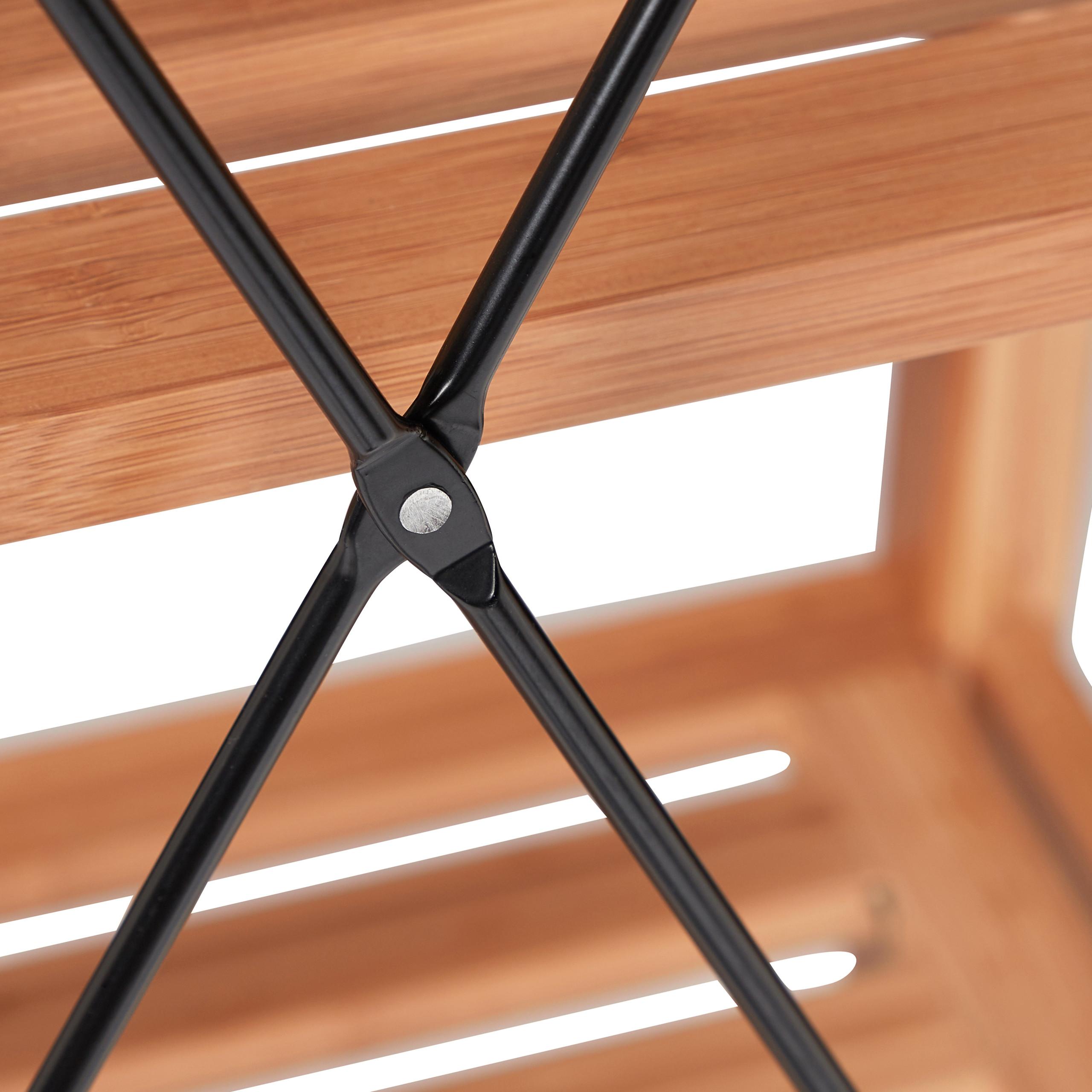 Bambusregal-Deluxe-Stehregal-natur-Standregal-Regal-Bambus-Lagerregal-Badregal Indexbild 16