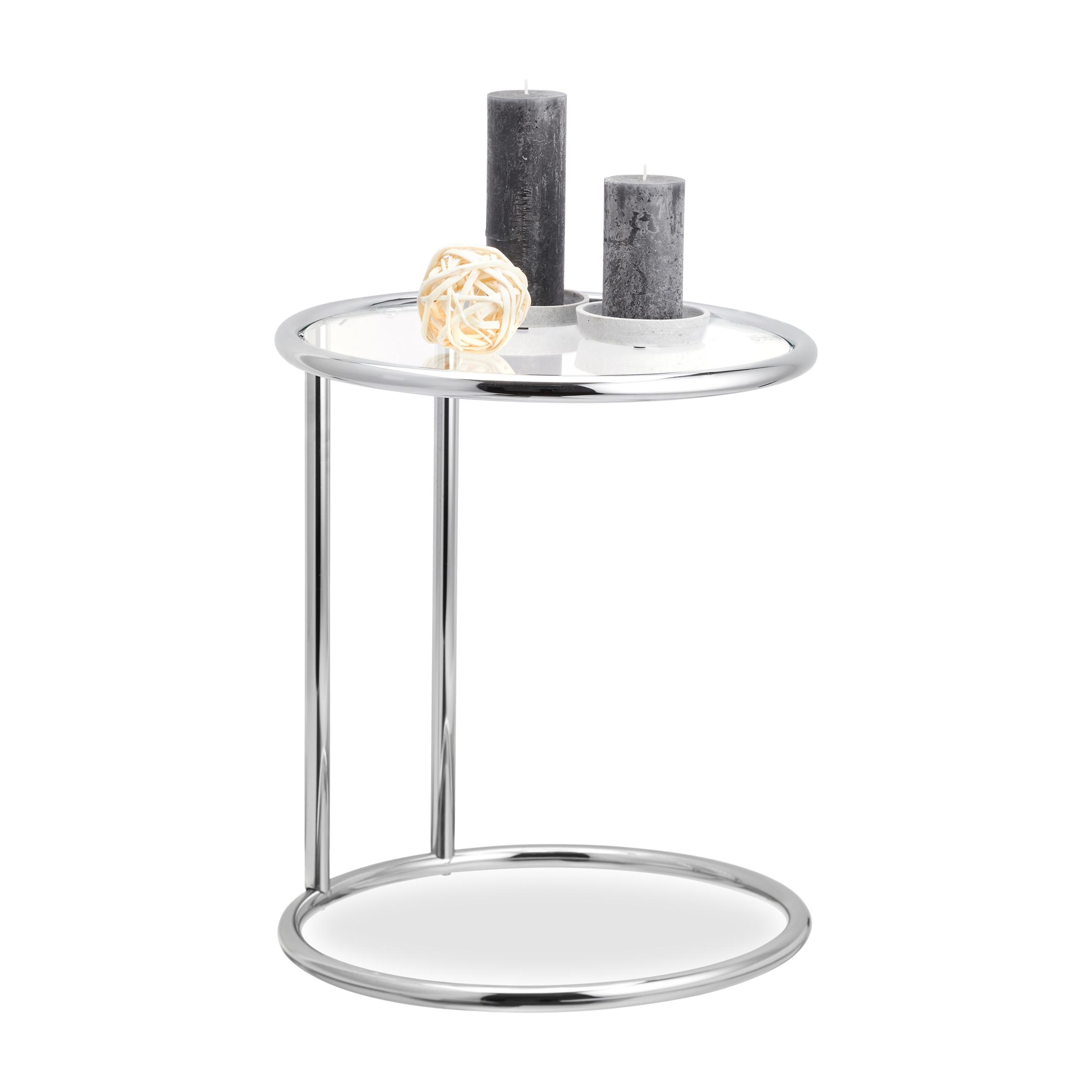 Tavolino Rotondo da Salotto, Sofà, Telefono Metallo Tavolo Design | eBay