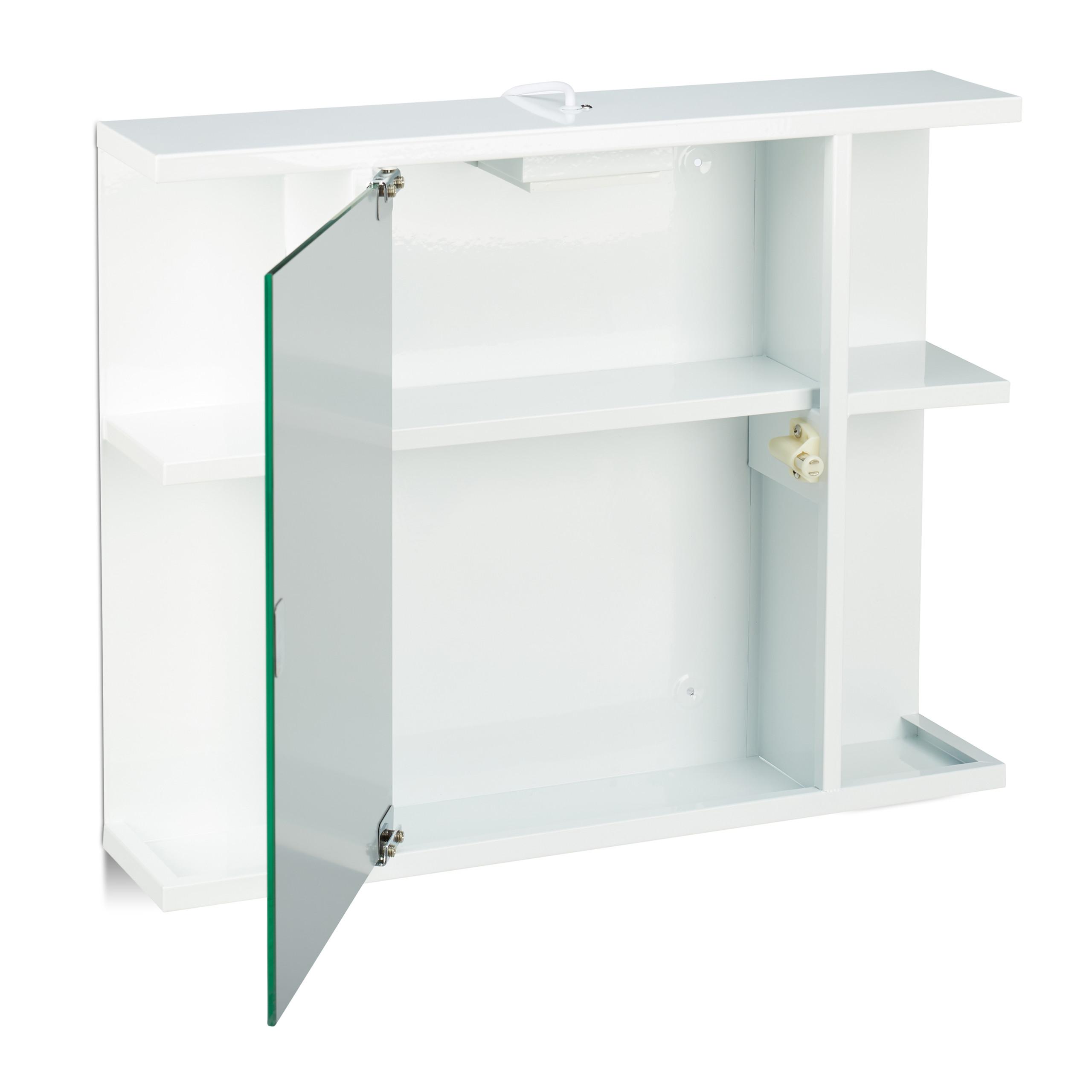 Spiegelschrank Bad Hängeschrank Badspiegel Wandschrank