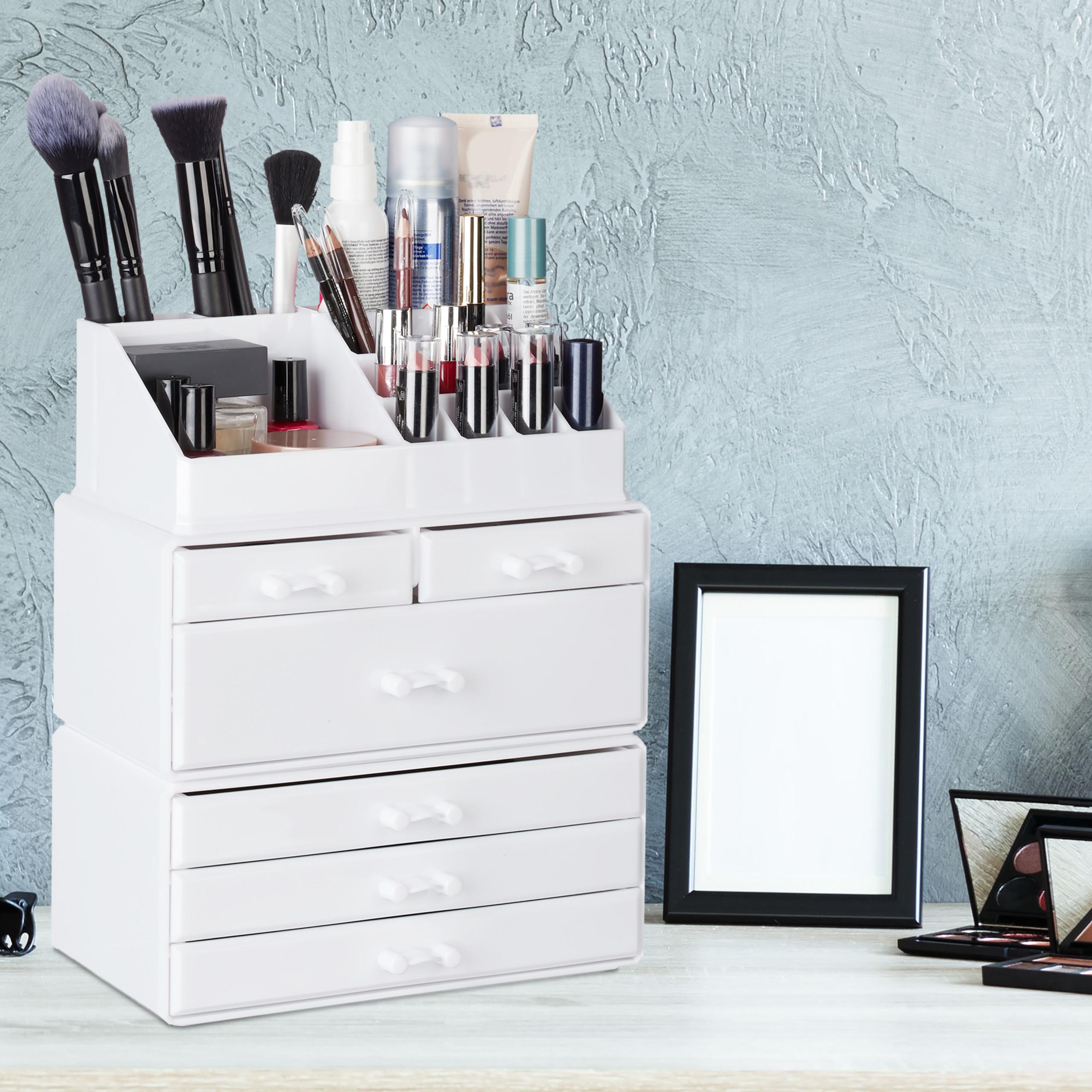 make-up-organizer-met-6-lades-acryl-cosmeticahouder-make-up-cosmetica-opslag miniatuur 19