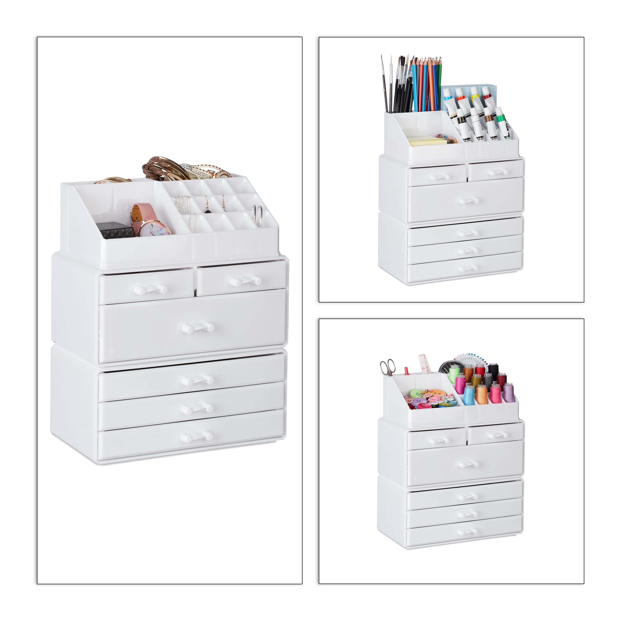 make-up-organizer-met-6-lades-acryl-cosmeticahouder-make-up-cosmetica-opslag miniatuur 20